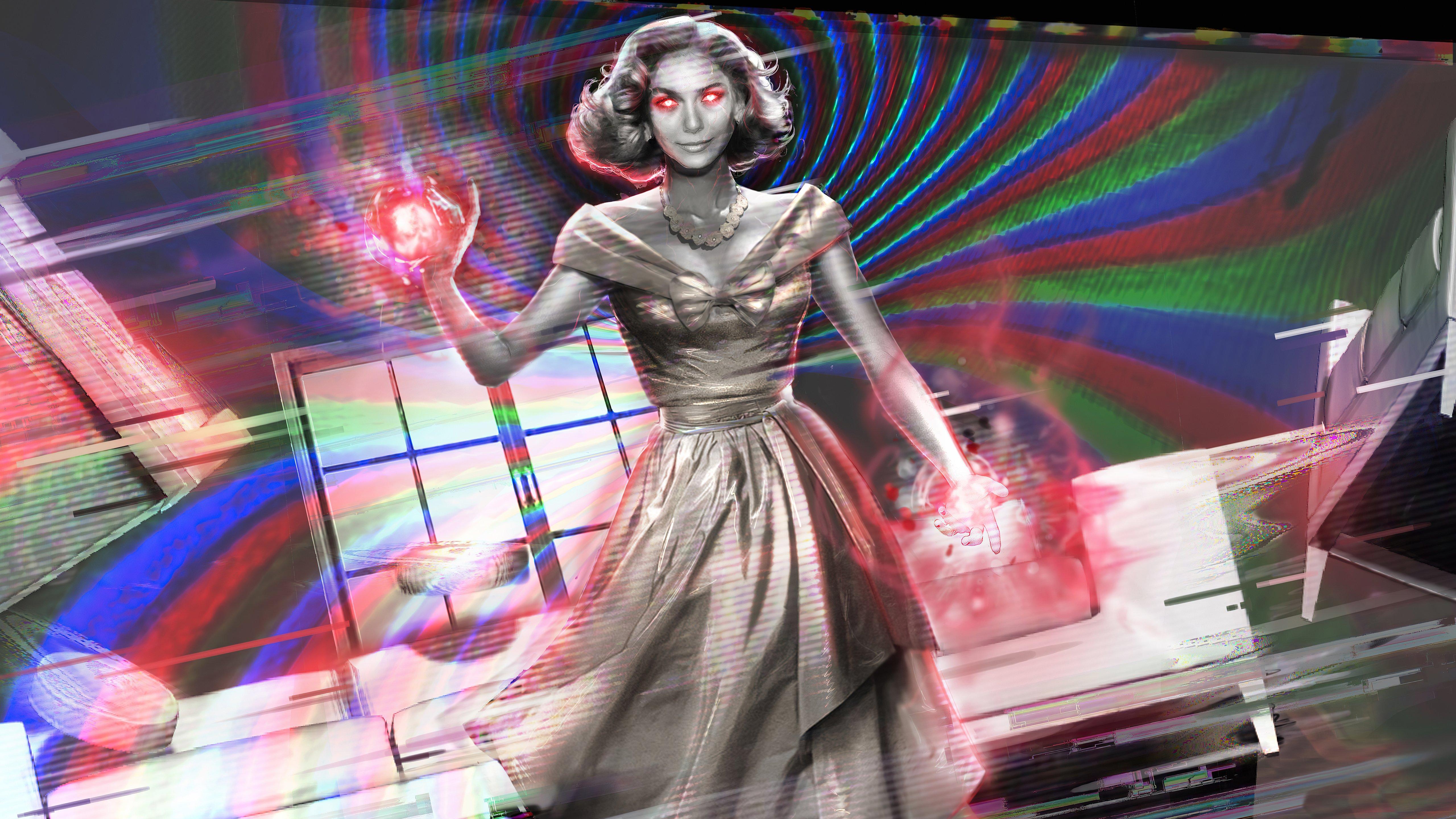 Fondos de pantalla Los poderes de Wanda