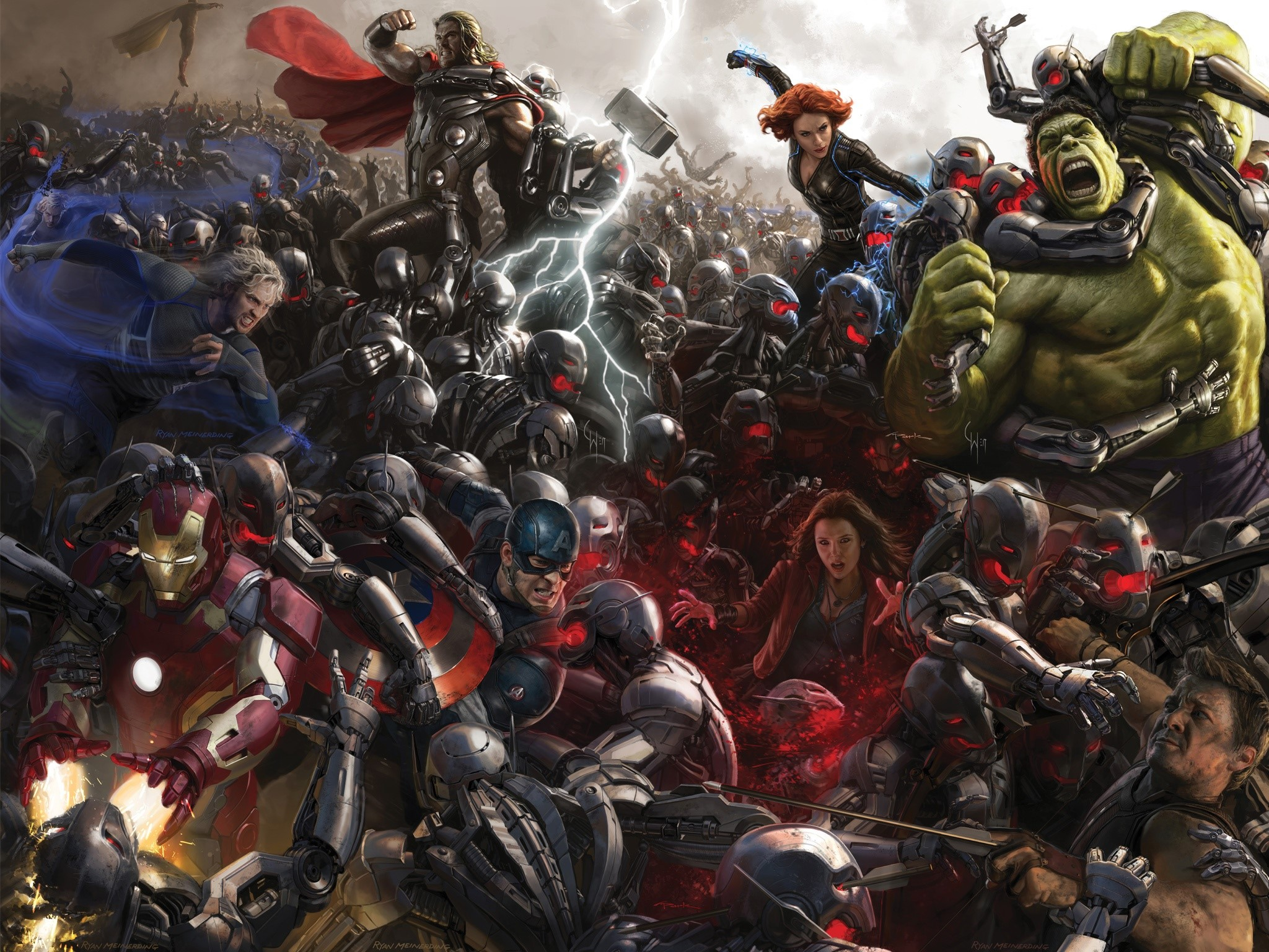 Wallpaper The Avengers
