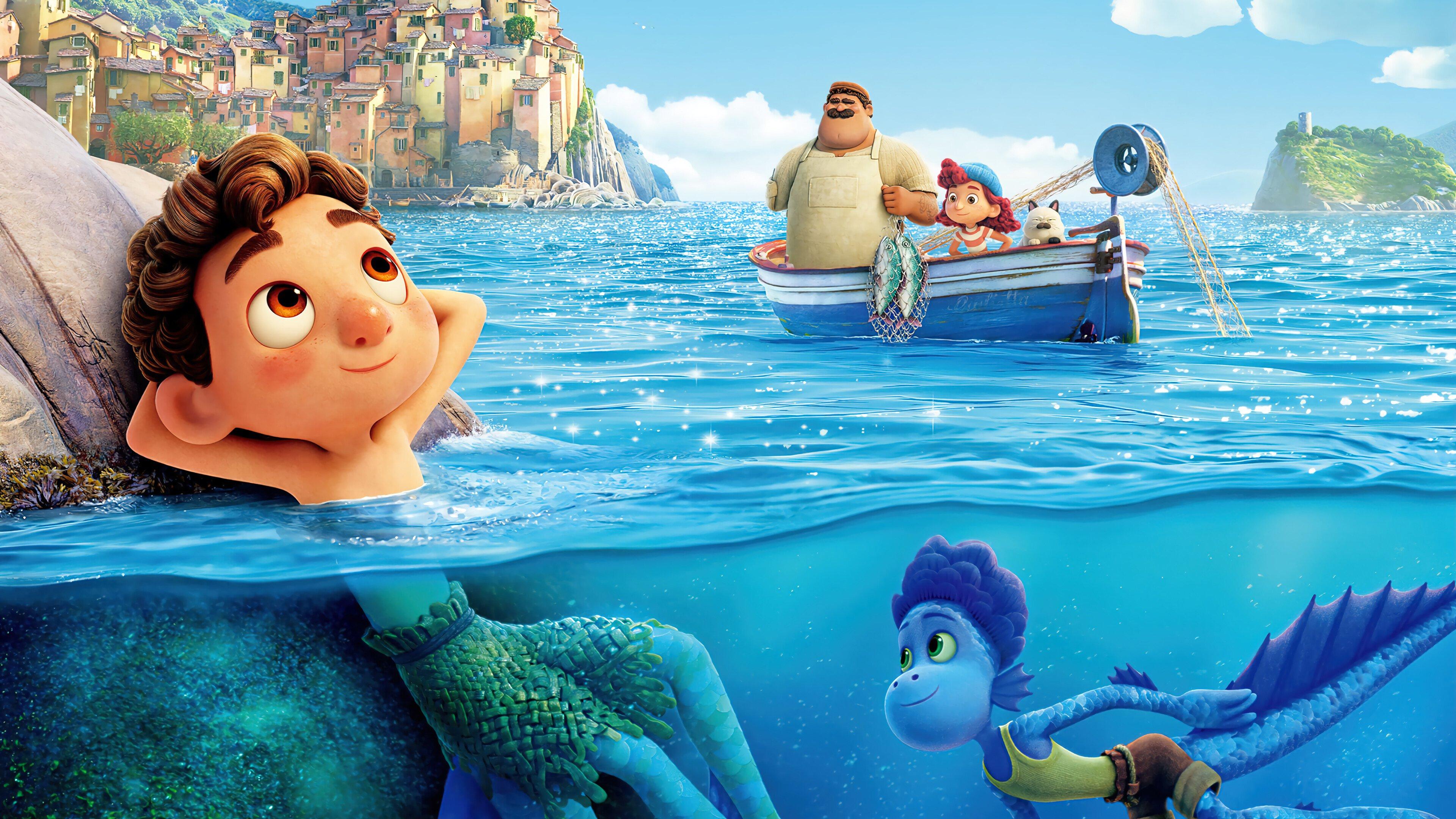Wallpaper Luca Sea Monster