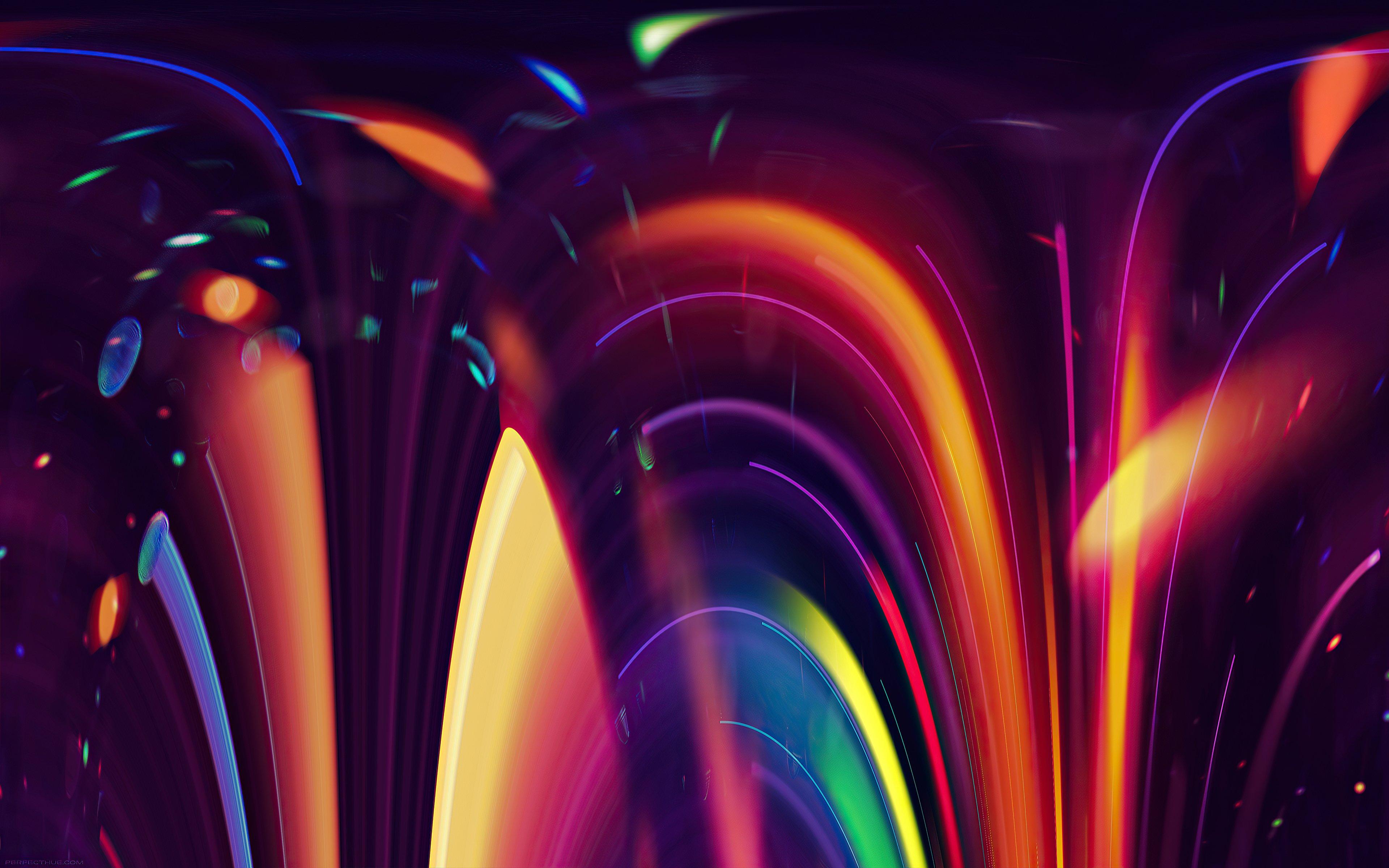 Fondos de pantalla Luces artisticas en movimiento