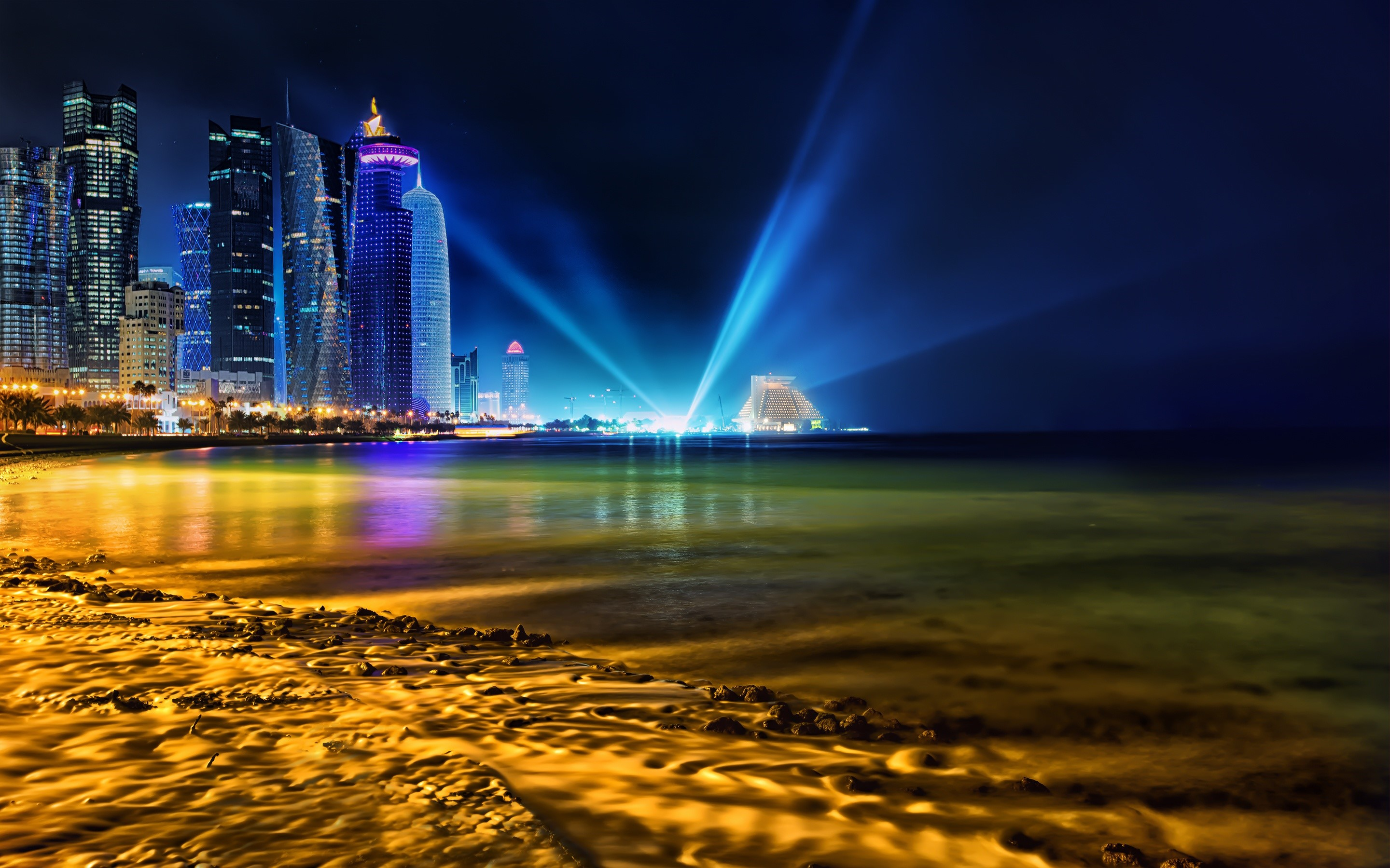 Wallpaper Luces en Doha Qatar Images