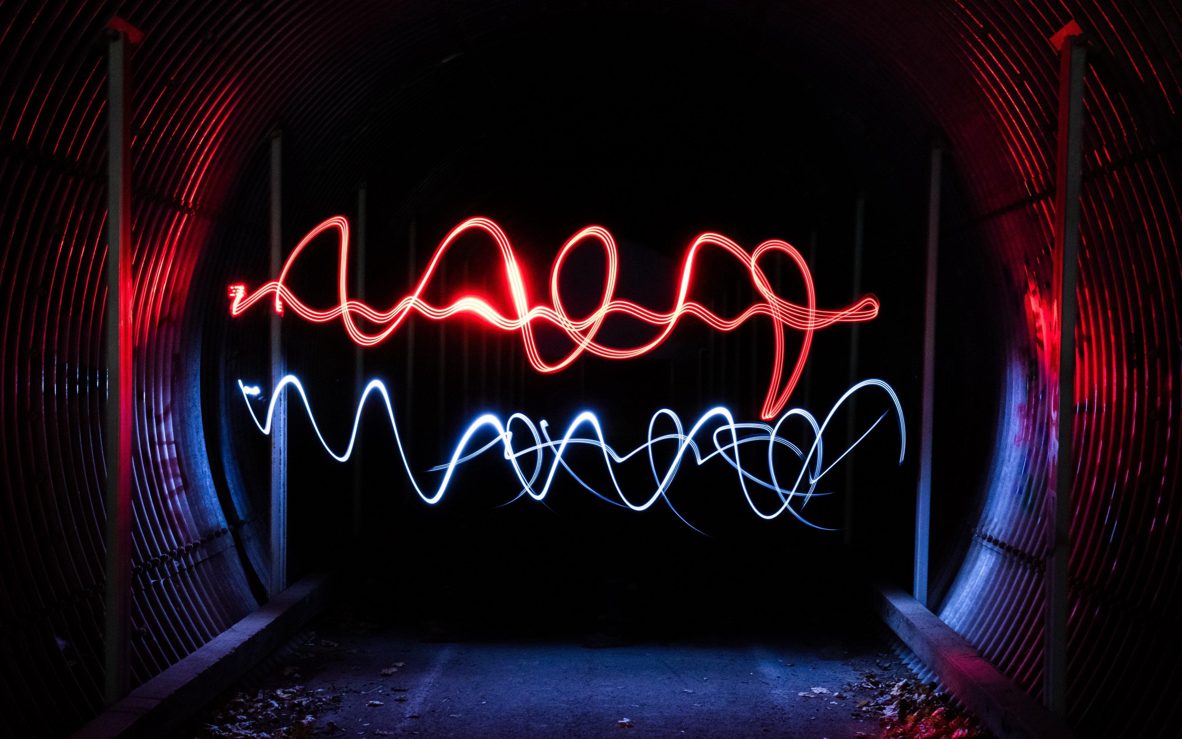 luces neon en tunel 4261