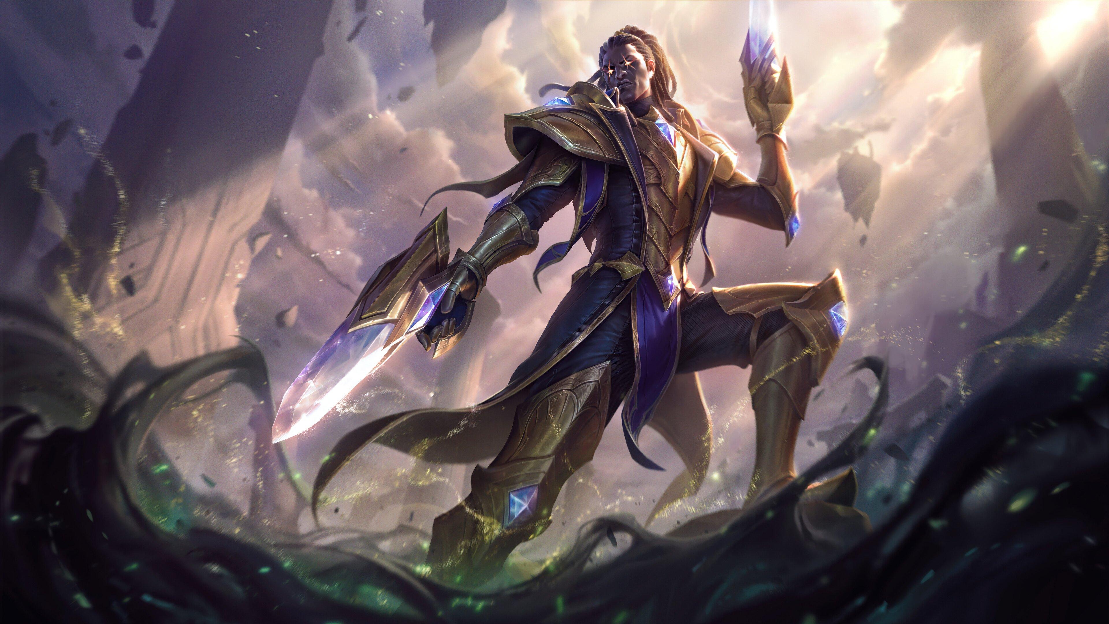 Wallpaper Lucian from League of Legends