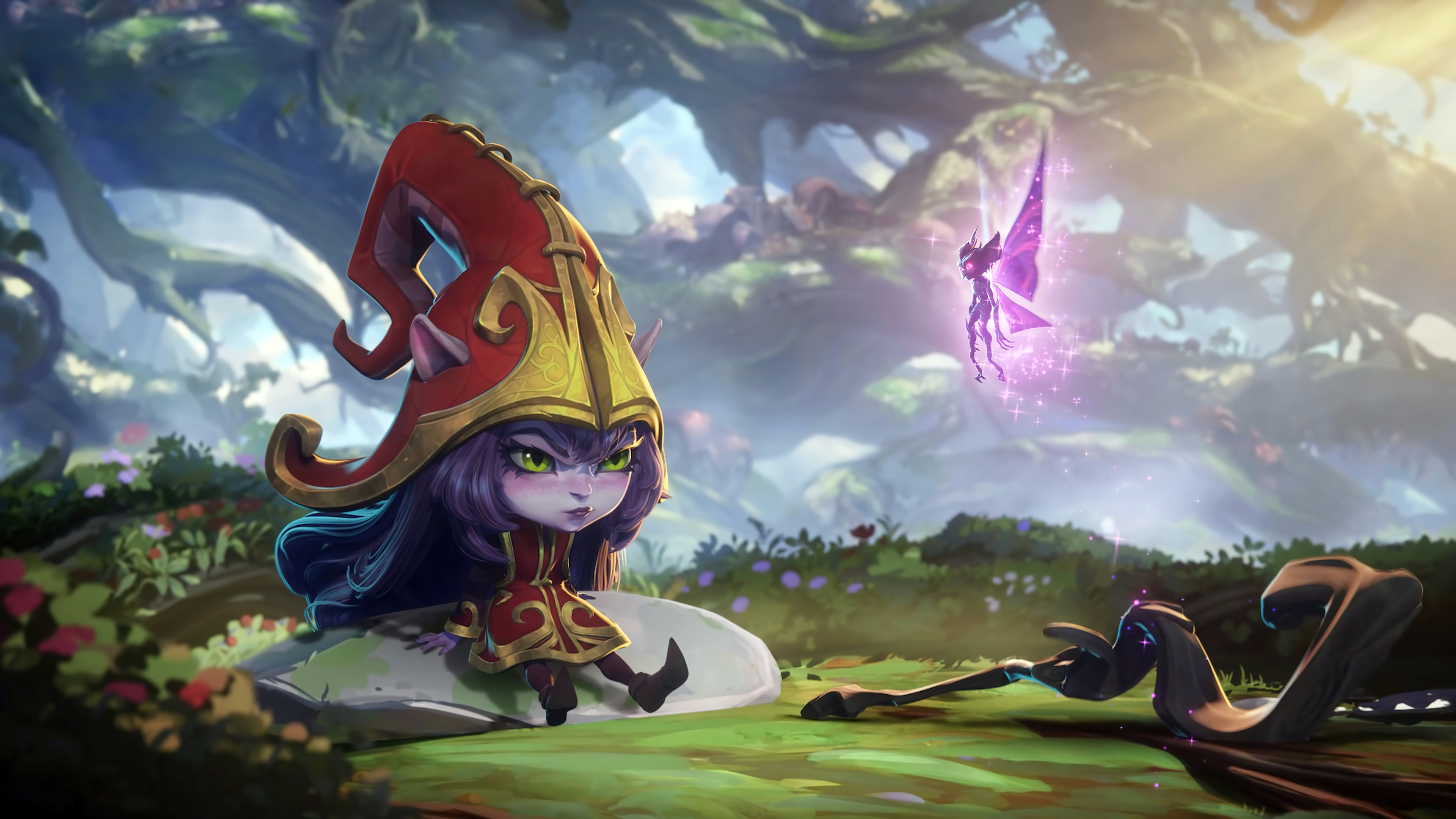 Fondos de pantalla Lulu de League of Legends