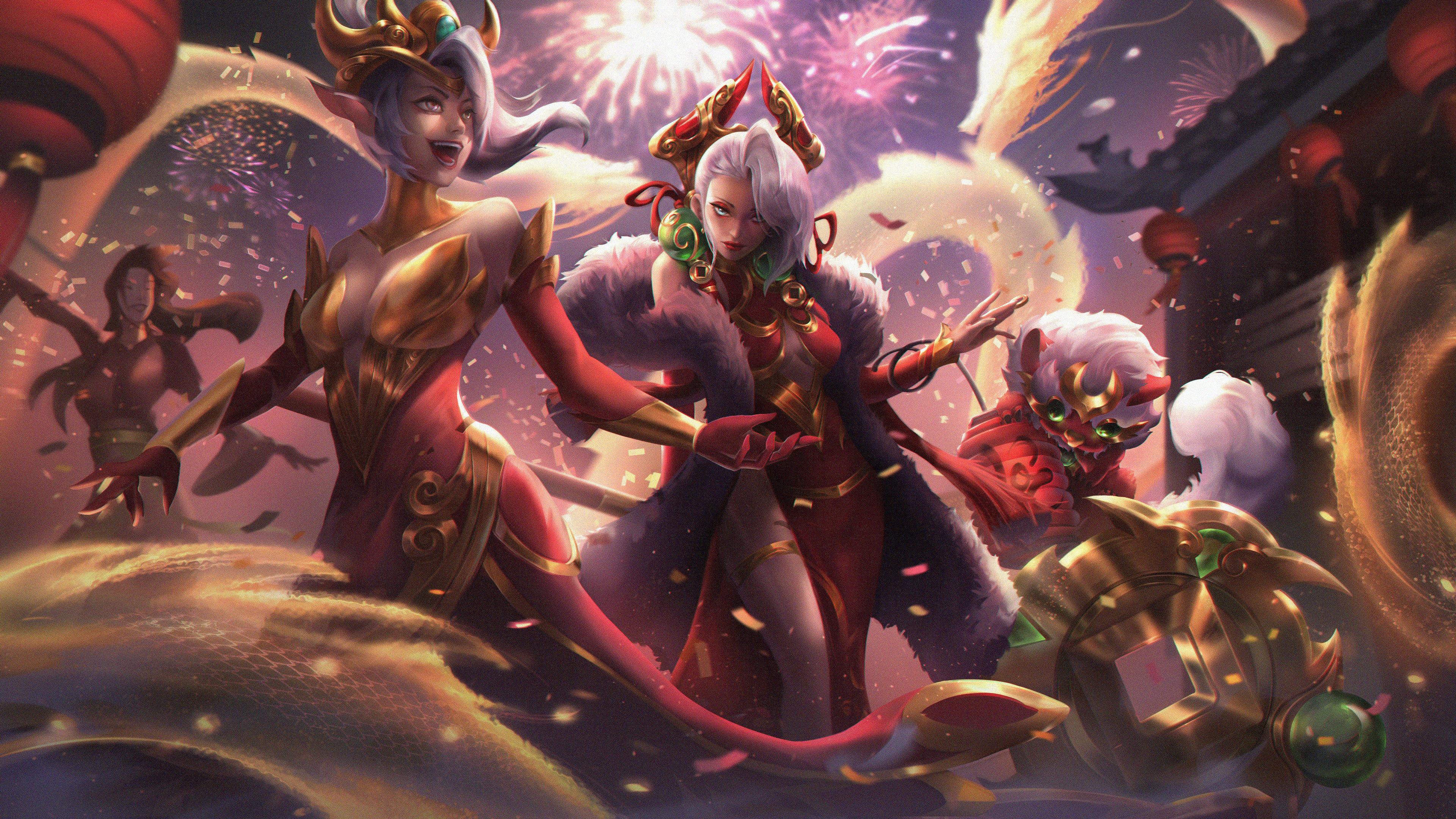 Fondos de pantalla Luna League of Legends