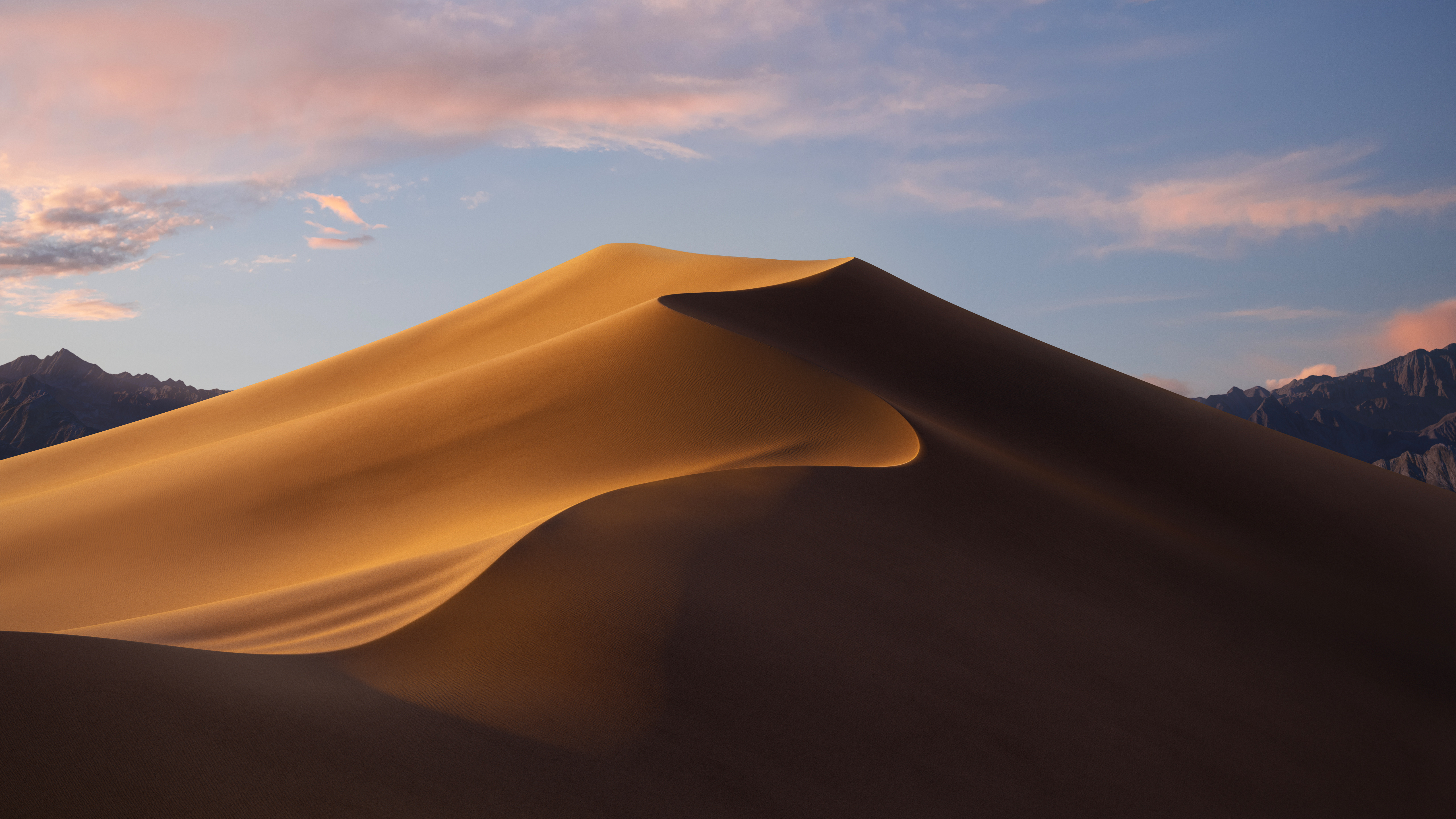 Wallpaper macOS Mojave Day mode