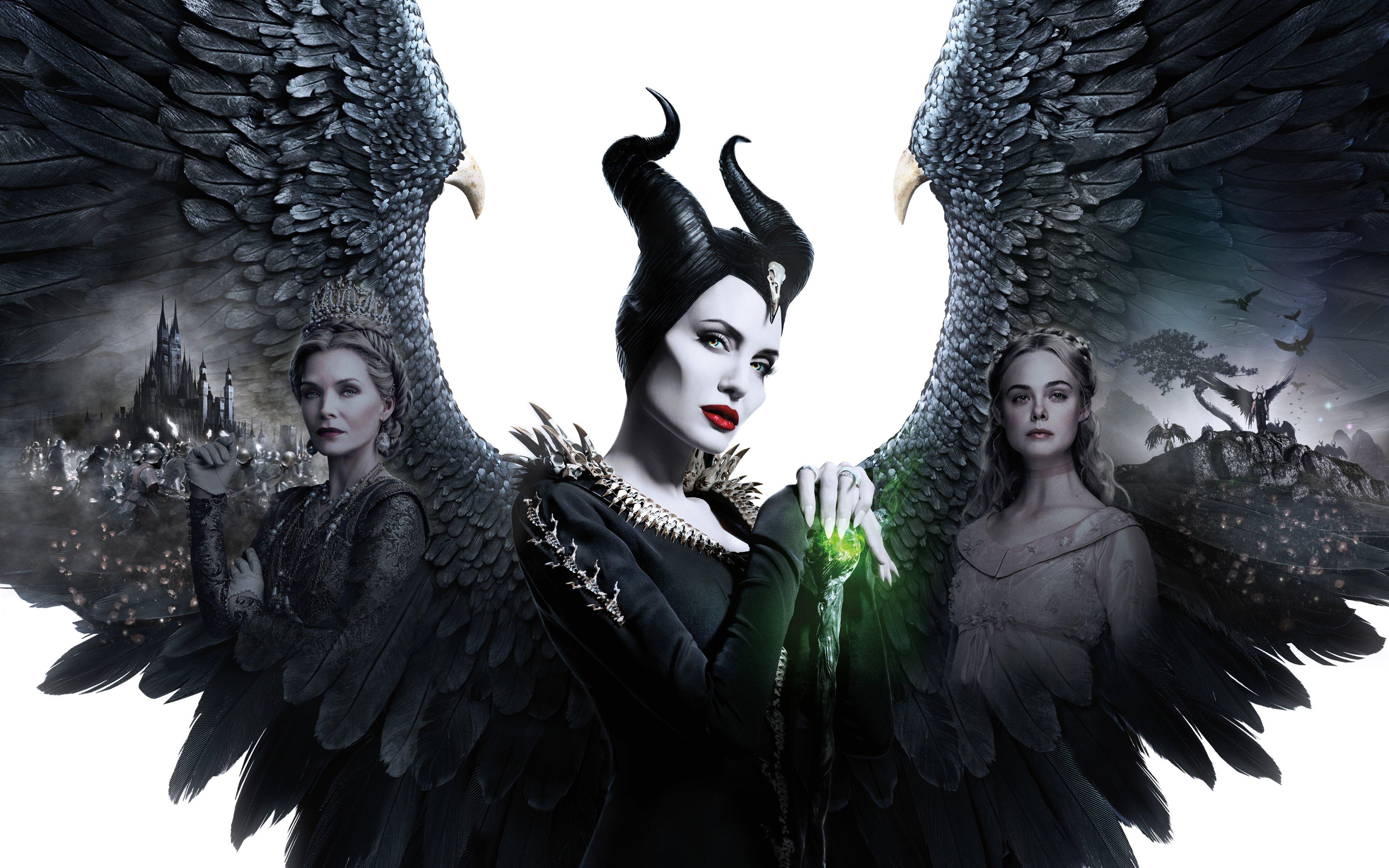 Maleficent Mistress Of Evil Wallpaper 4k Ultra Hd Id 3854
