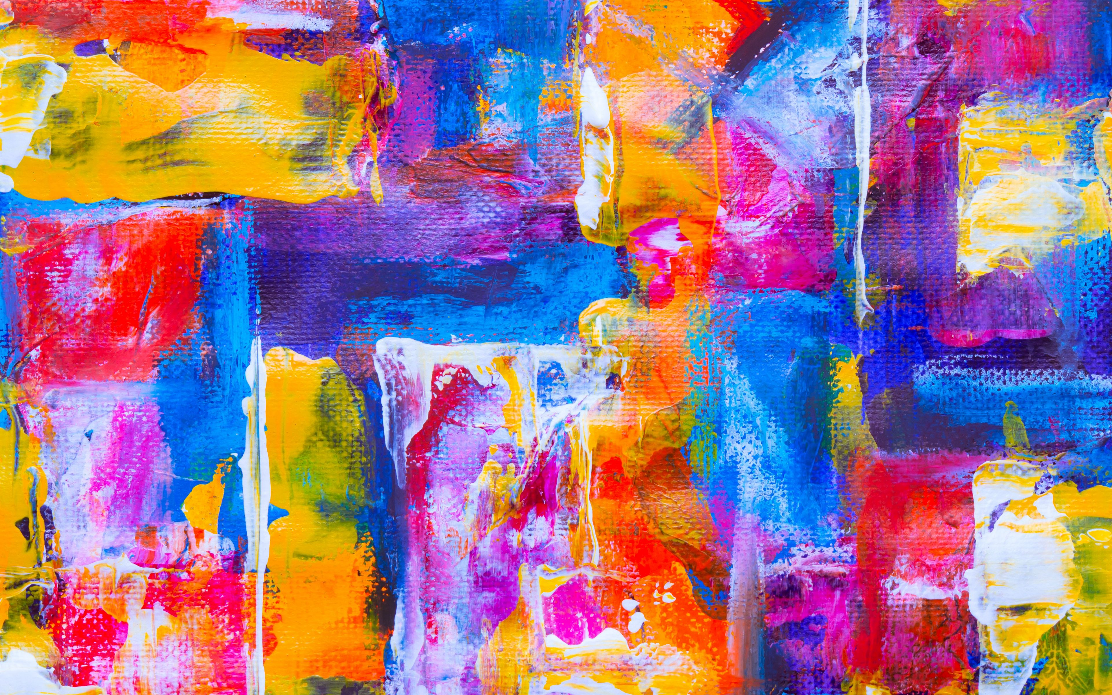 Fondos de pantalla Manchas de pintura Abstracto