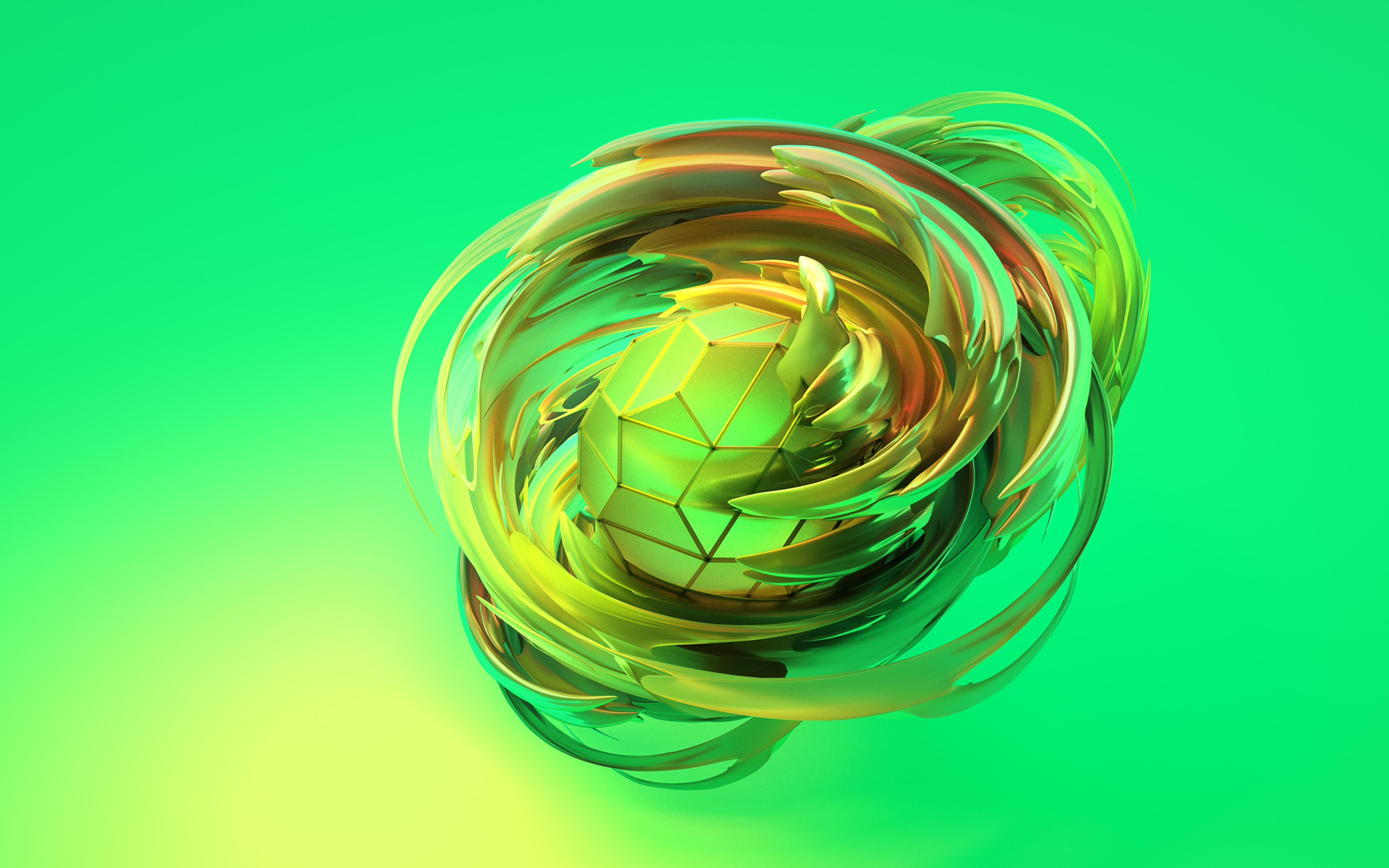 Fondos de pantalla Manzana abstracta