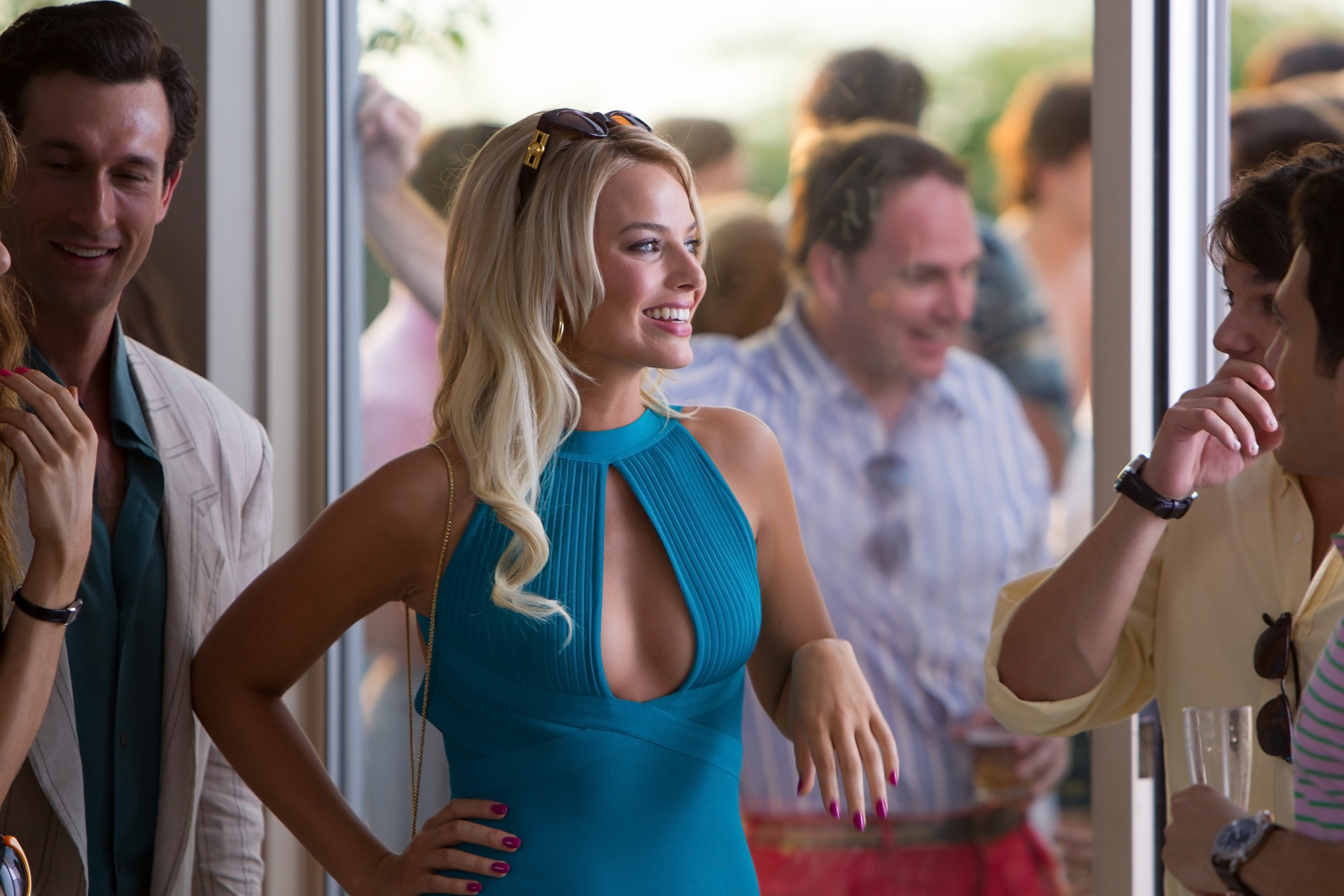 Margot Robbie From The Wolf Of Wall Street Wallpaper Id 4661