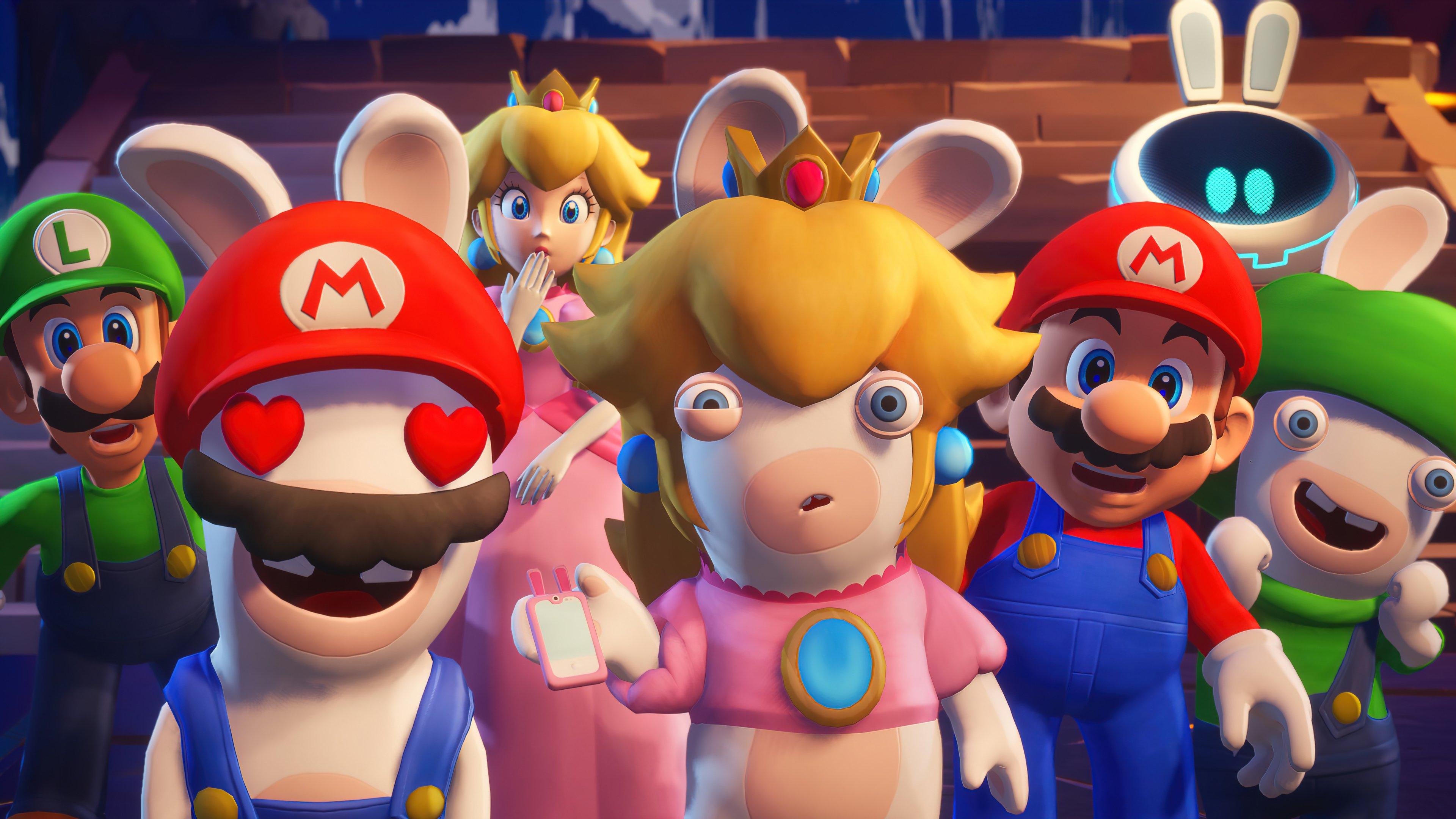 Fondos de pantalla Mario + Rabbids Sparks of Hope