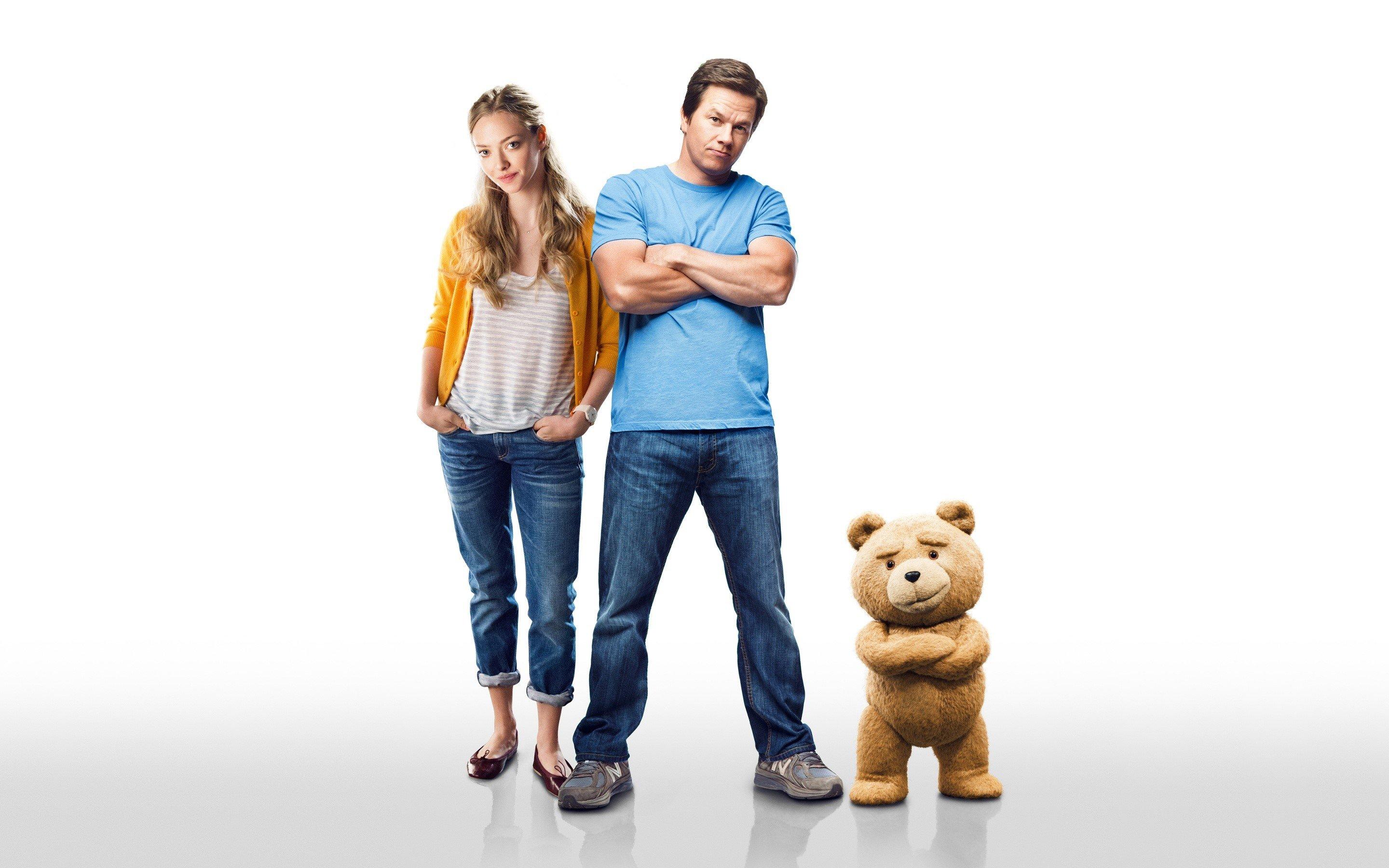 Fondos de pantalla Mark Wahlberg y Amanda Seyfried en Ted 2