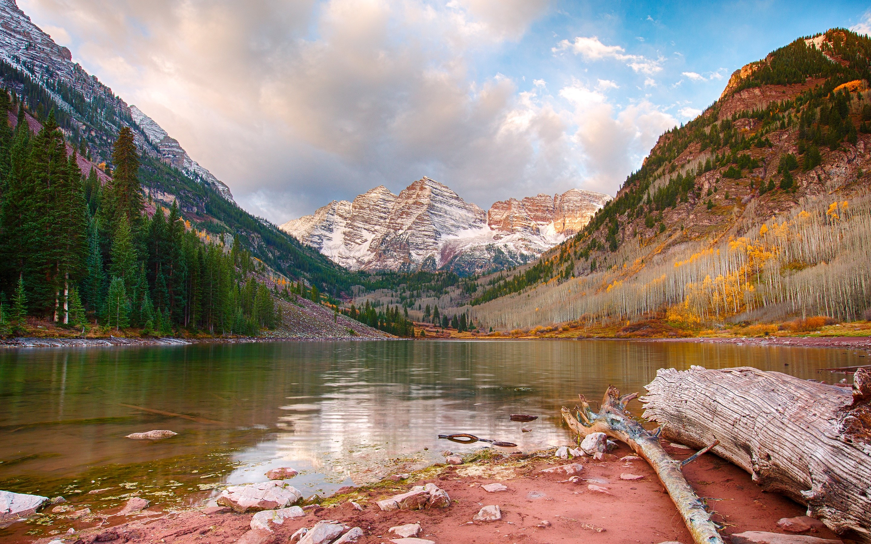 Fondos de pantalla Maroon Lake Aspen en colorado