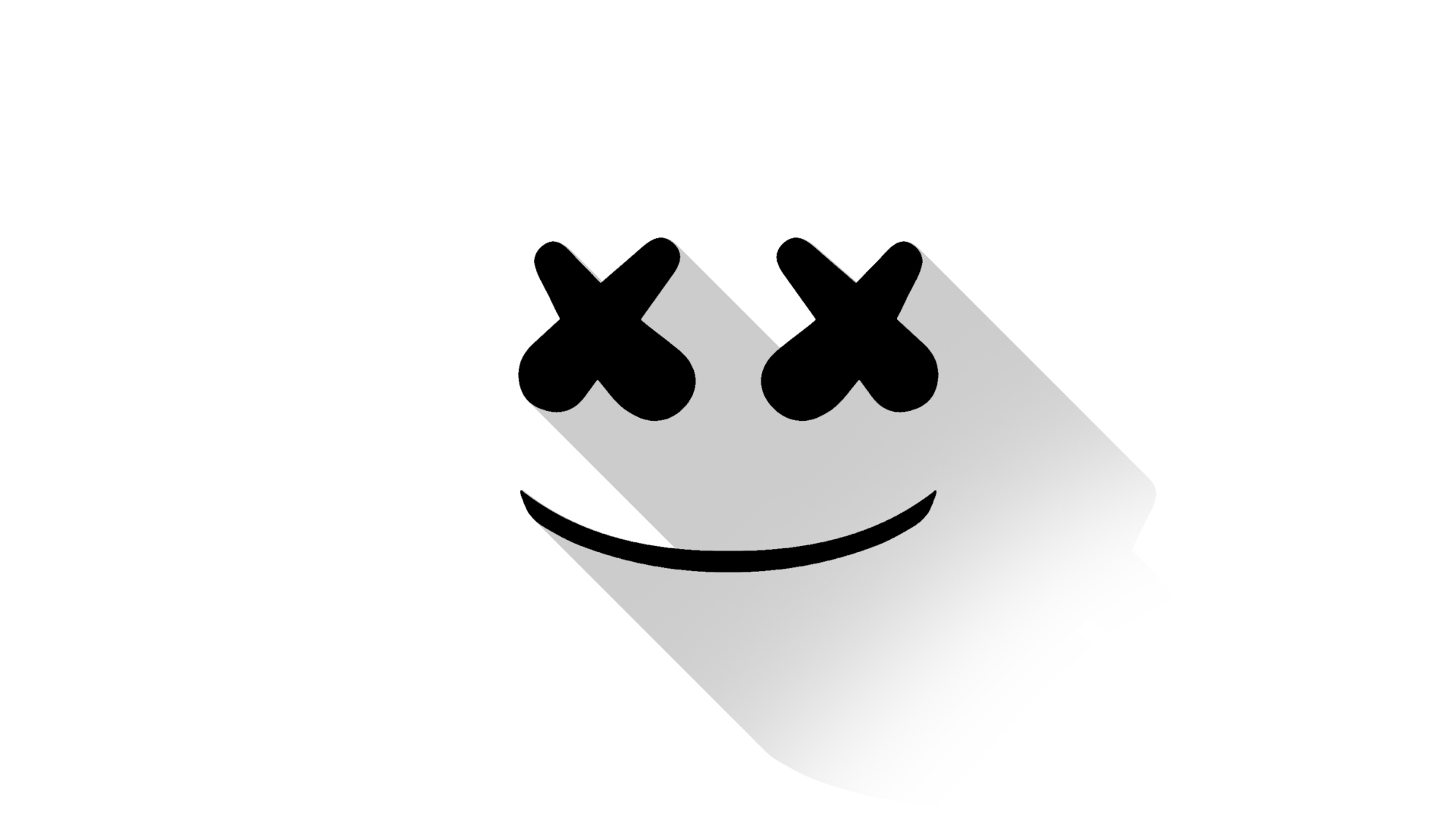Fondos de pantalla Marshmello DJ Minimalist Logo