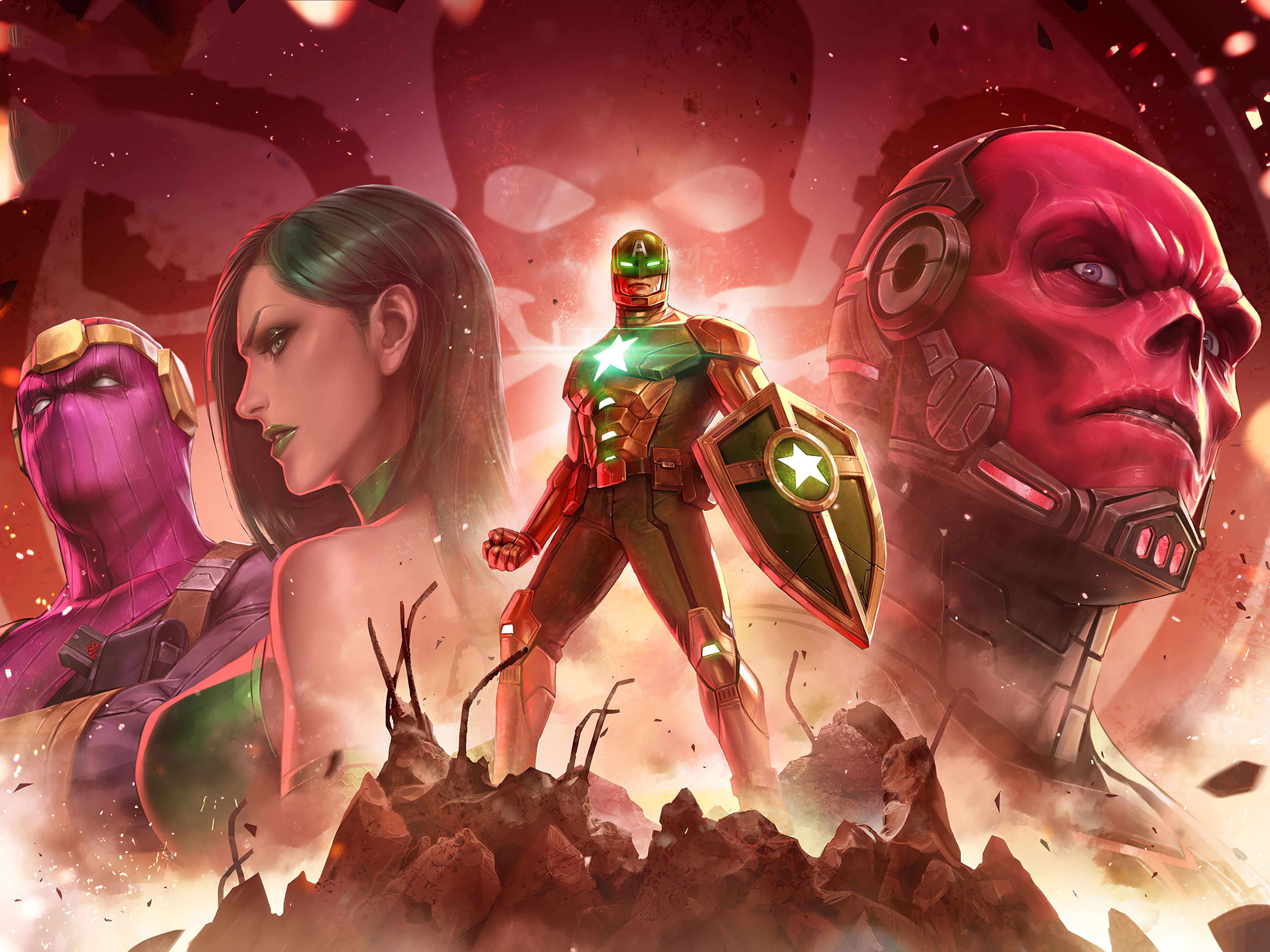 Fondos de pantalla Marvel Future Fight