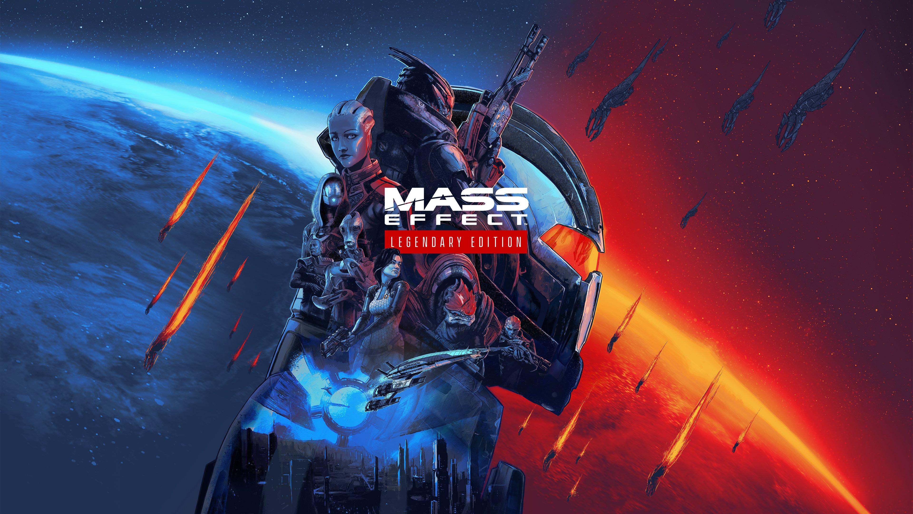 Wallpaper Mass Effect Legendary edition
