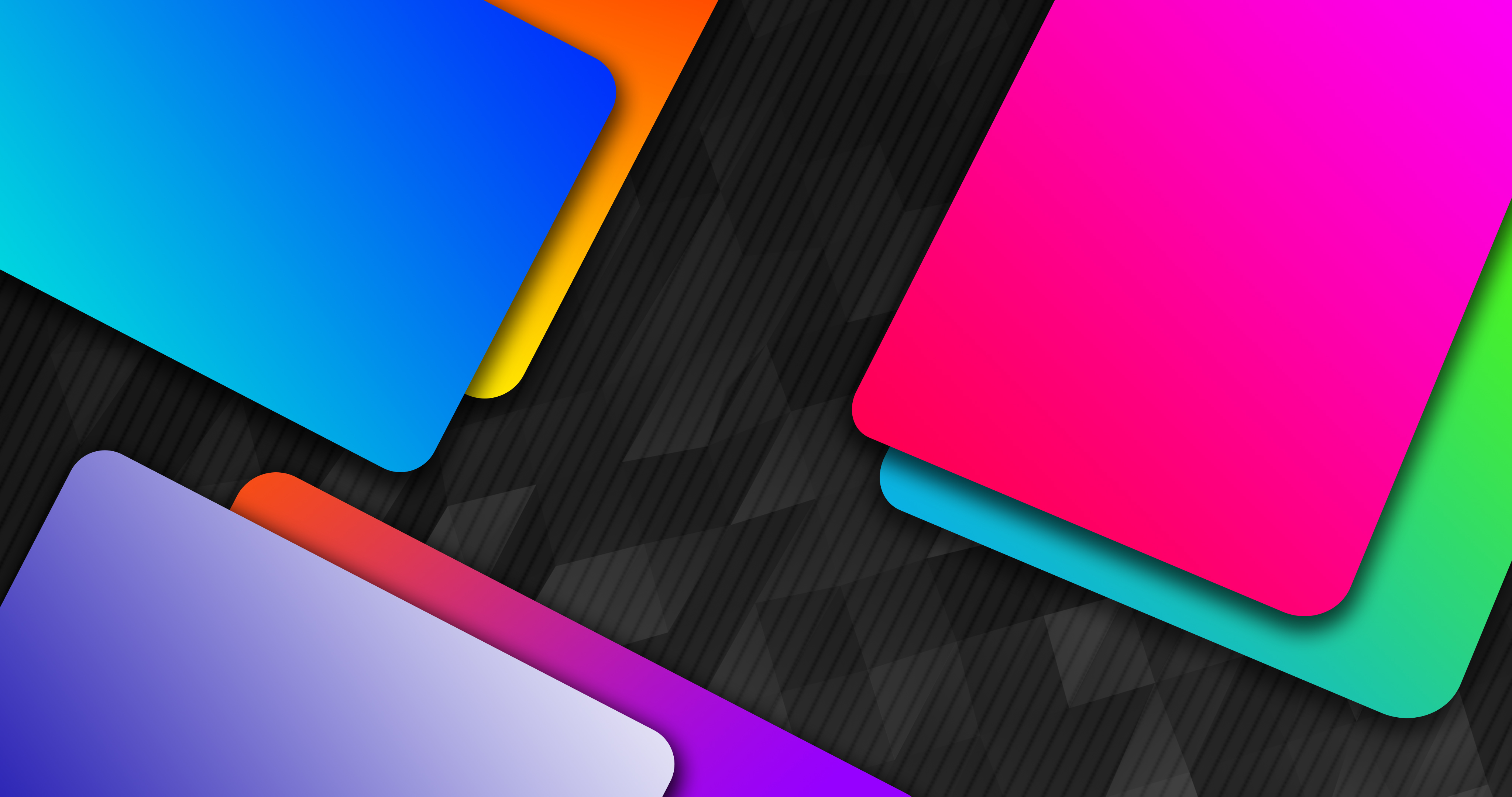 Fondos de pantalla Material de diseño metales de colores