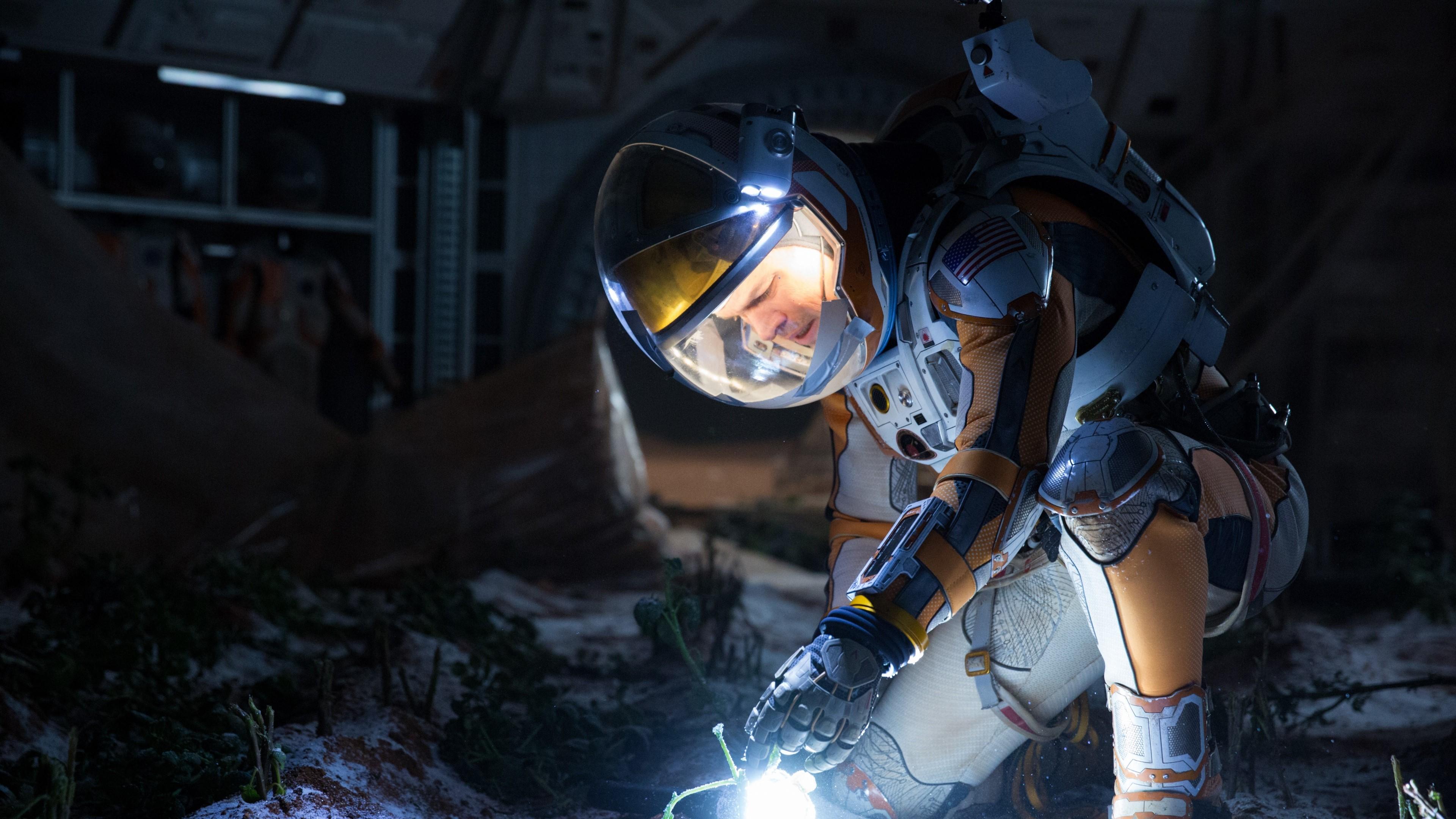 Fondos de pantalla Matt Damon en Misión Rescate