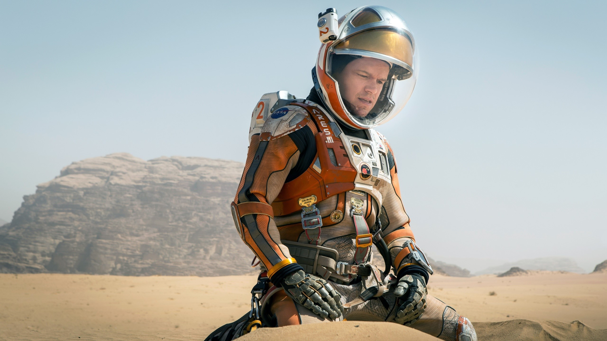 Wallpaper Matt Damon at The Martian