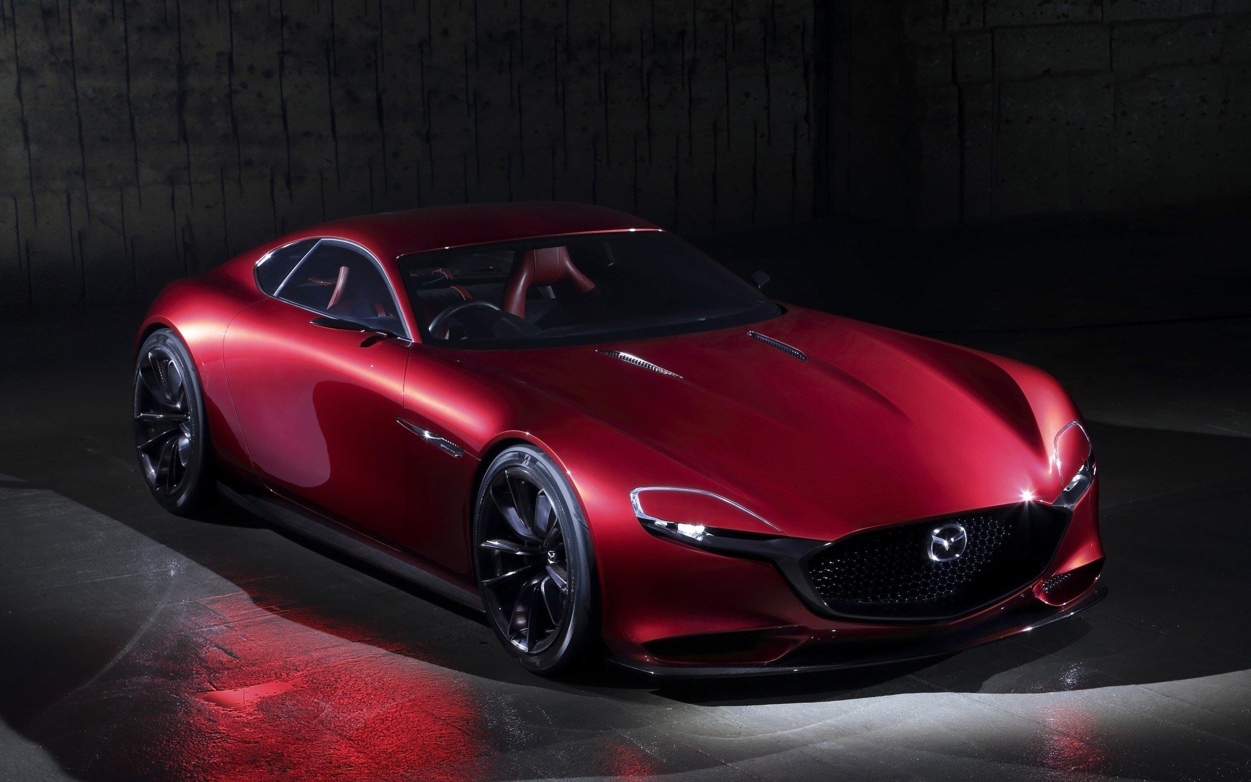 Wallpaper Mazda RX Vision Concept