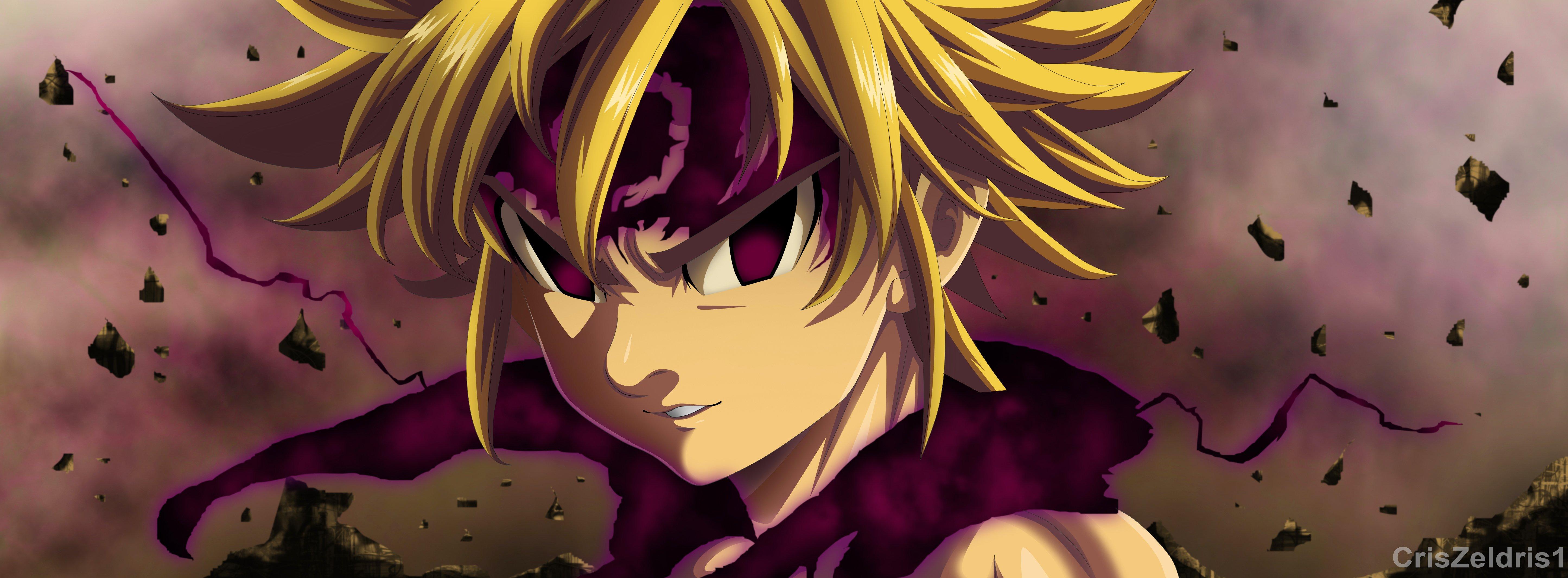 Fondos de pantalla Anime Meliodas de Los siete pecados capitales