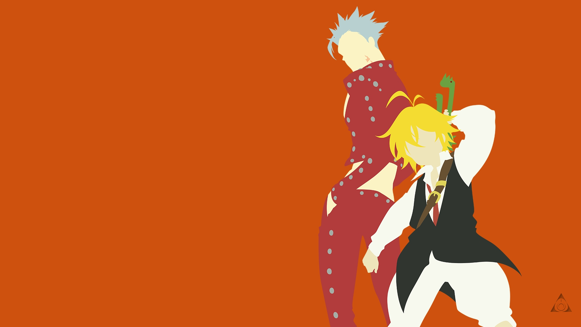 Anime Wallpaper Meliodas and Ban from Seven Deadly Sins