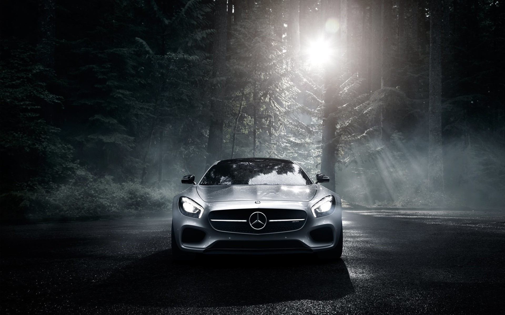 Fondos de pantalla Mercedes Benz AMG GT S