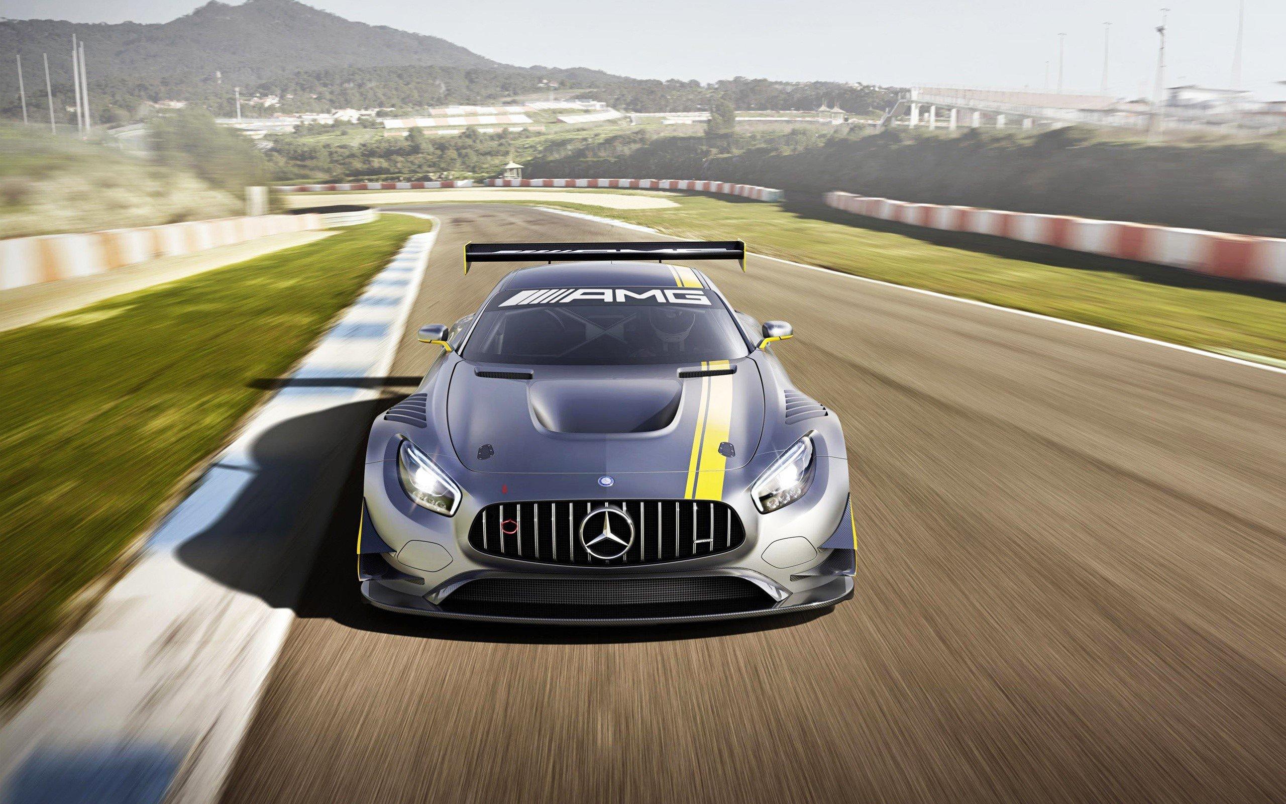 Fondos de pantalla Mercedes Benz AMG GT3