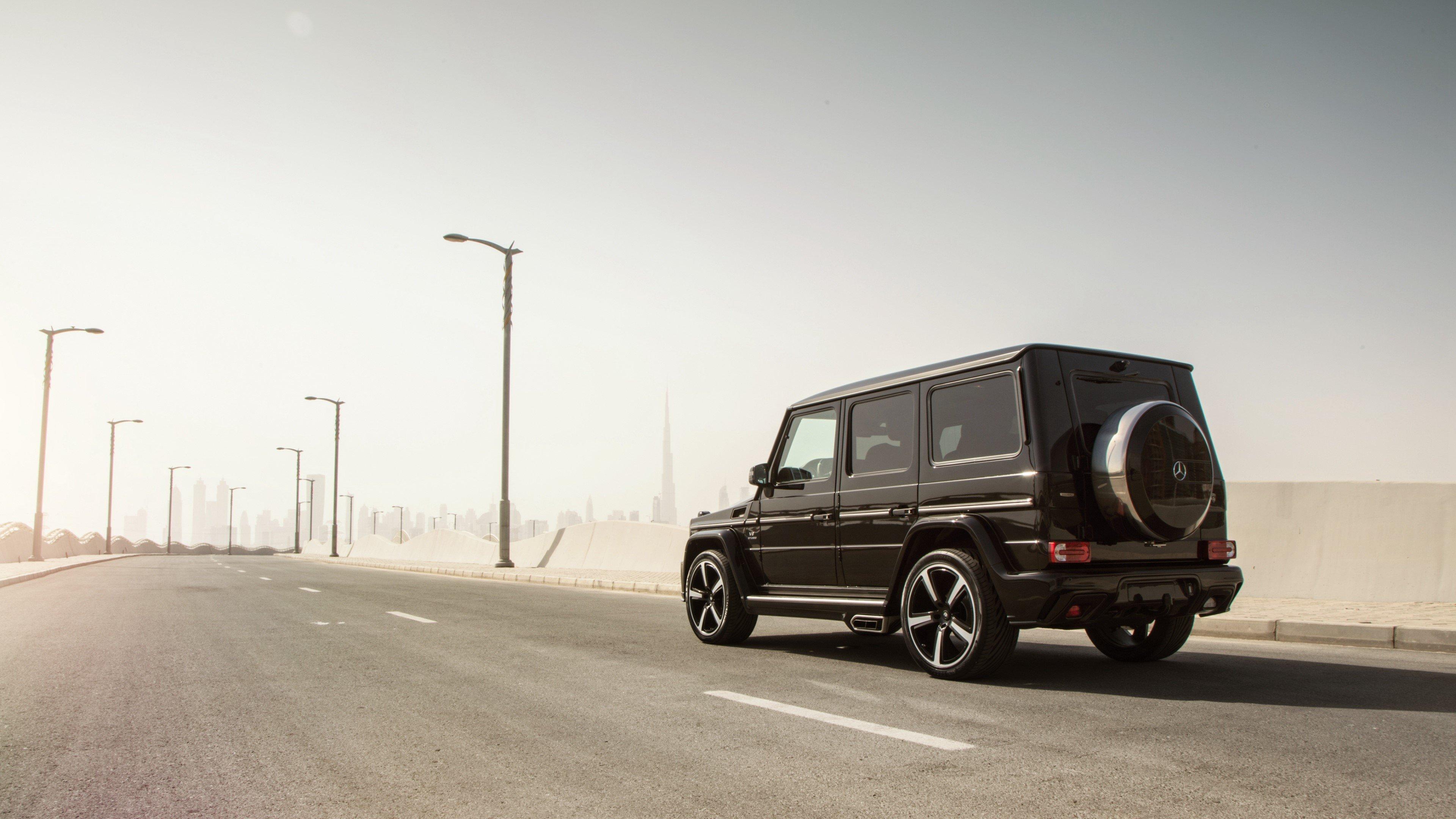 Fondos de pantalla Mercedes benz G Klasse W463 negro