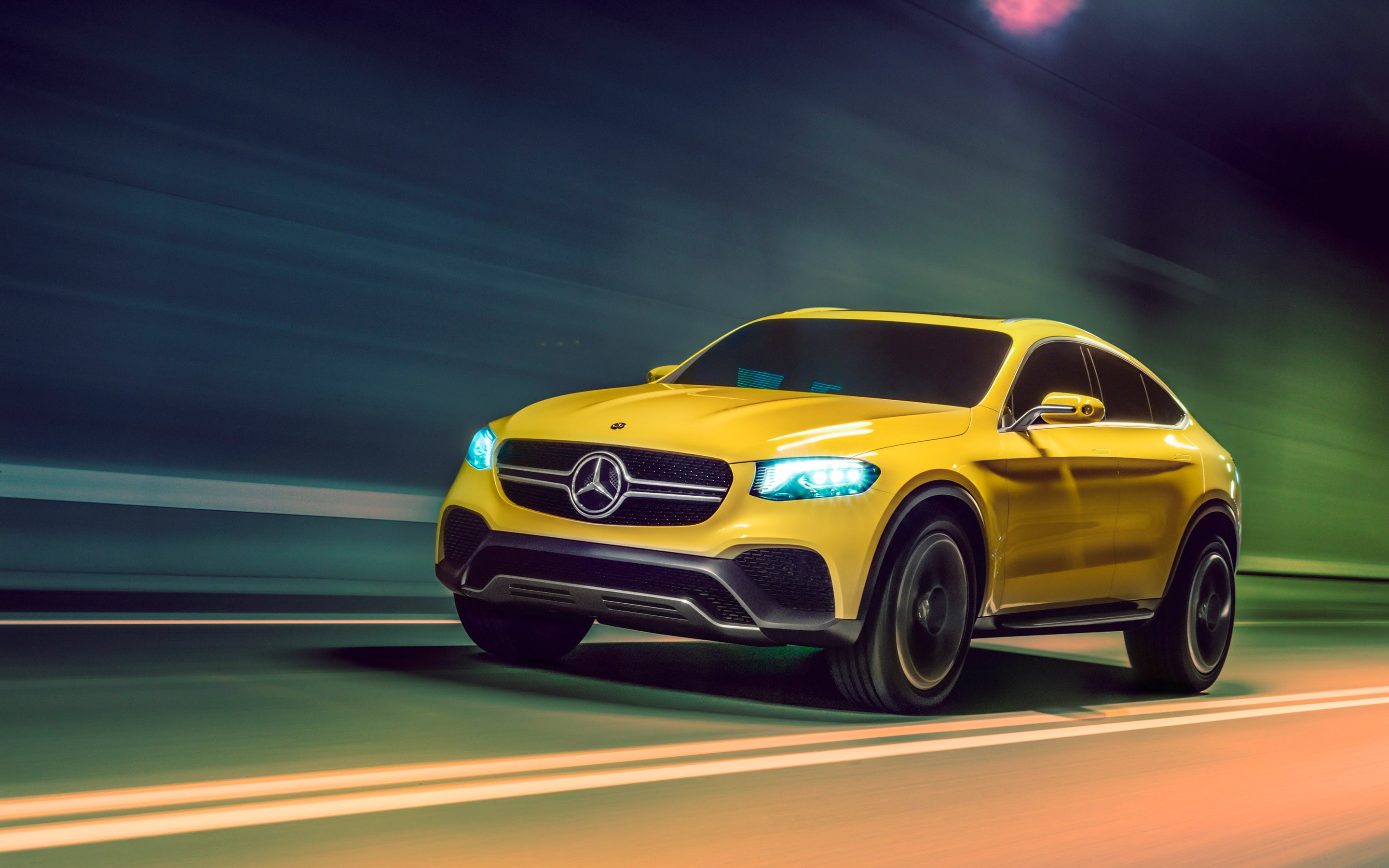 Wallpaper Mercedes Benz GLC Coupe Concept