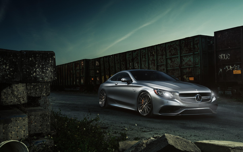 Fondo de pantalla de Mercedes benz S63 AMG luxury sports sedan Imágenes