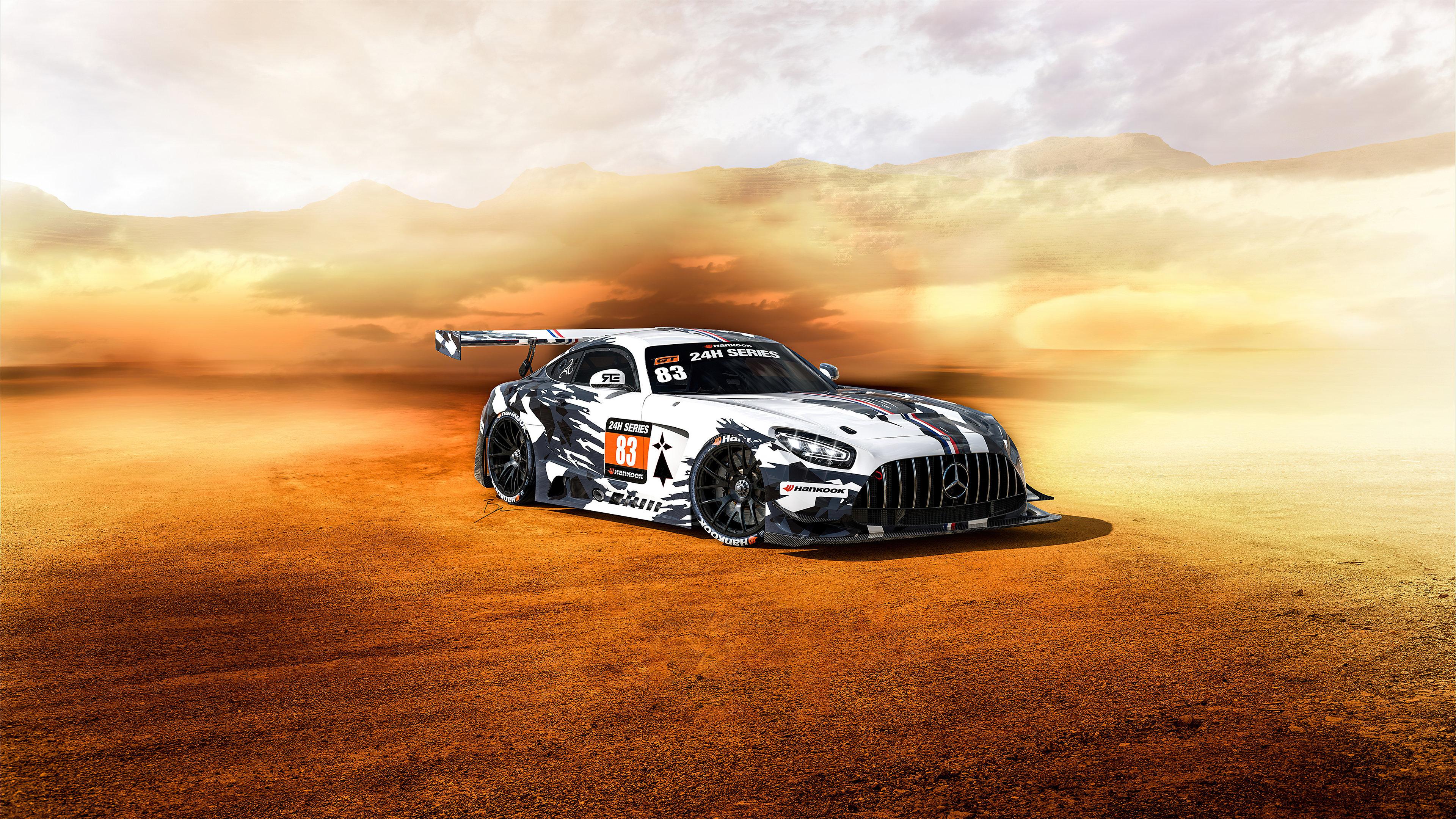 Wallpaper Mercedes GT3