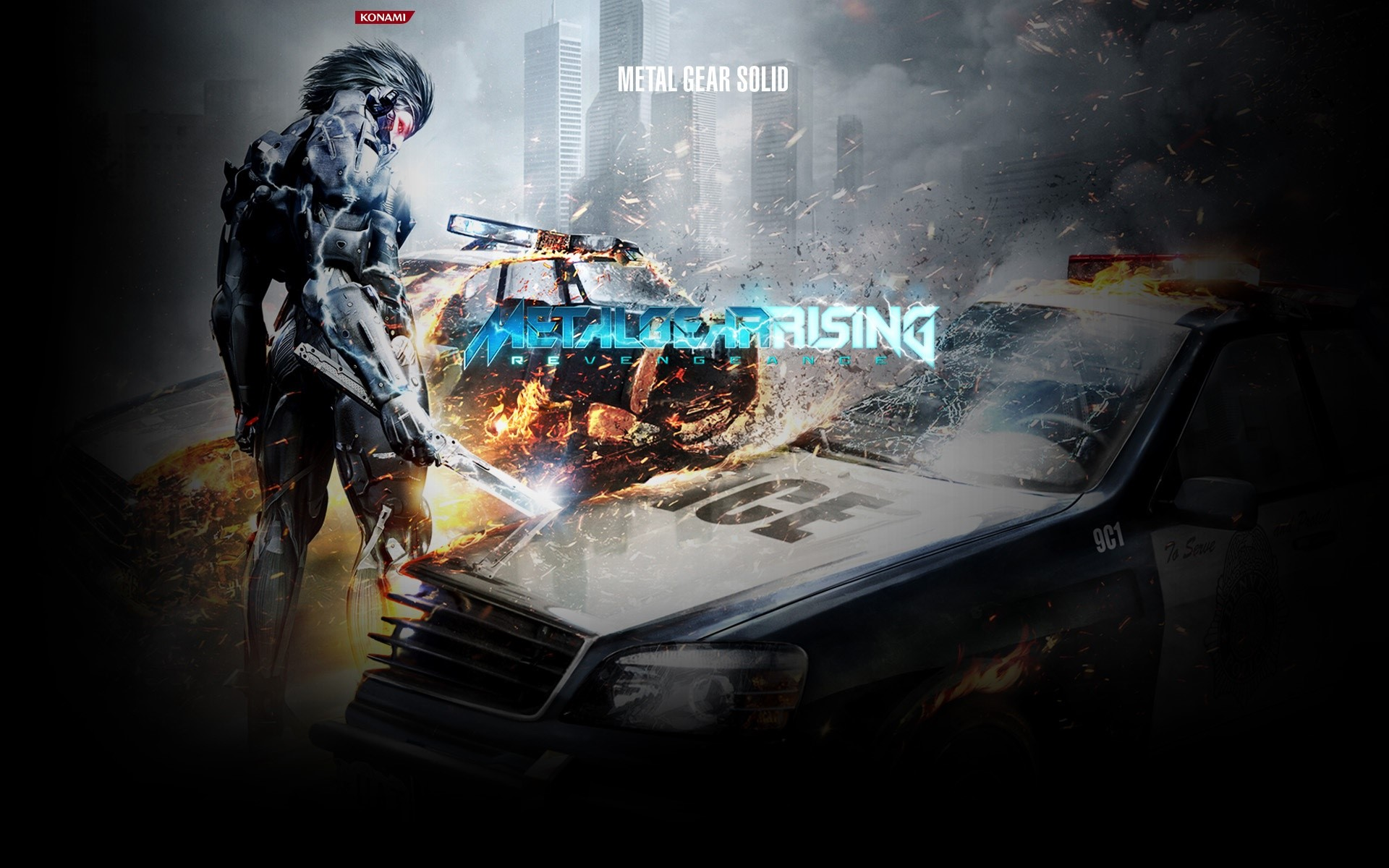 Wallpaper Metal Gear Rising Revengeance 2