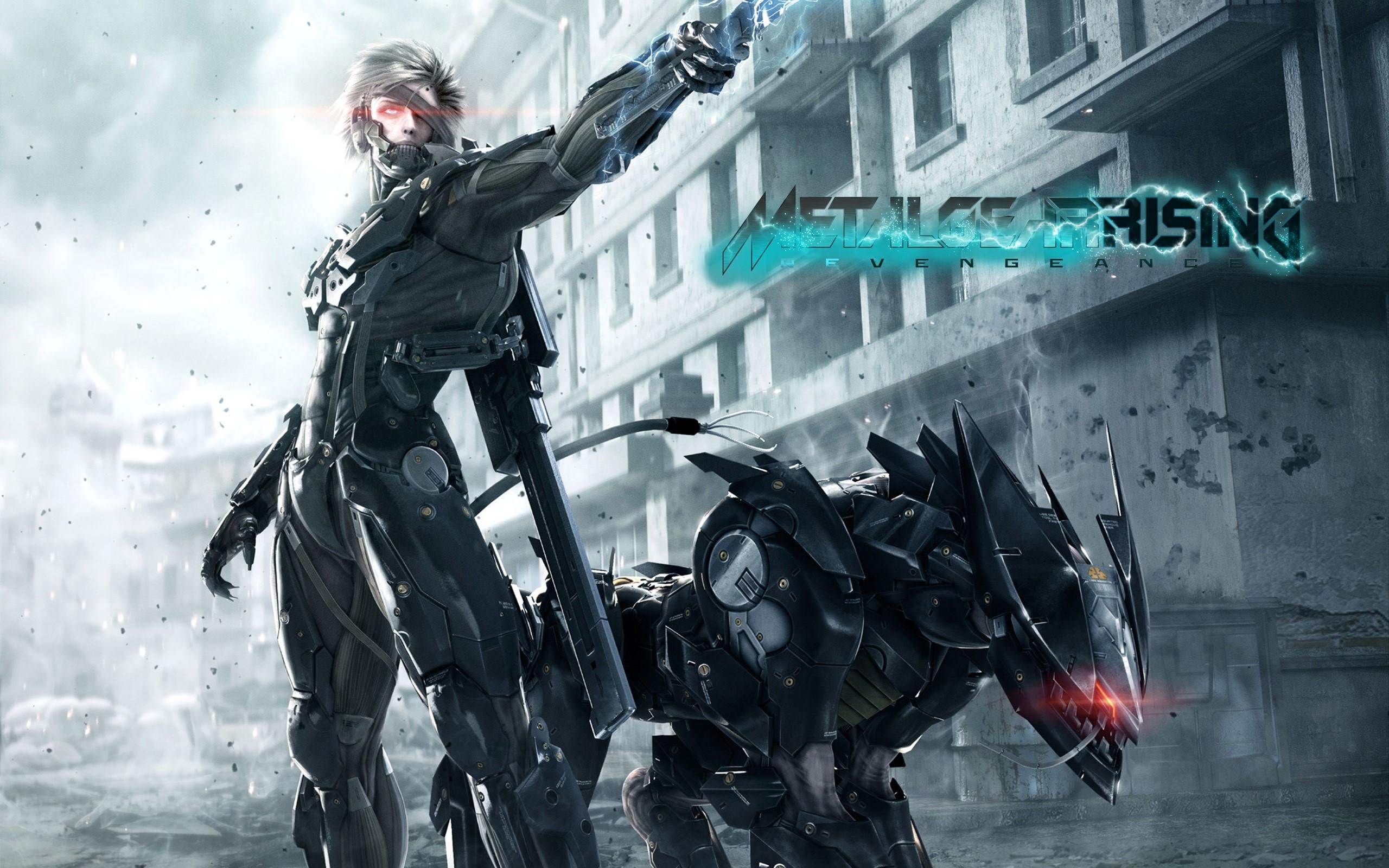 Fondos de pantalla Metal Gear Rising Revengeance 4