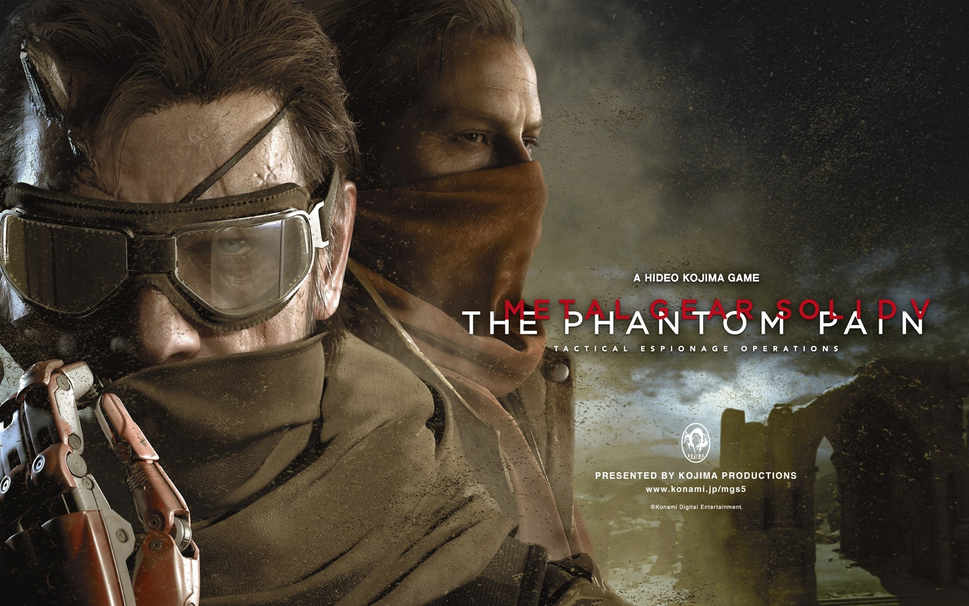 Fondos de pantalla Metal Gear Solid V: The Phantom Pain