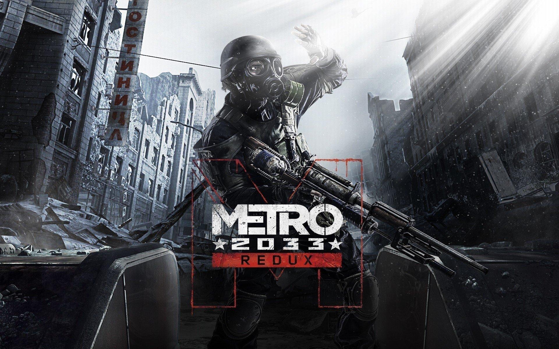 Fondos de pantalla Metro 2033 Redux