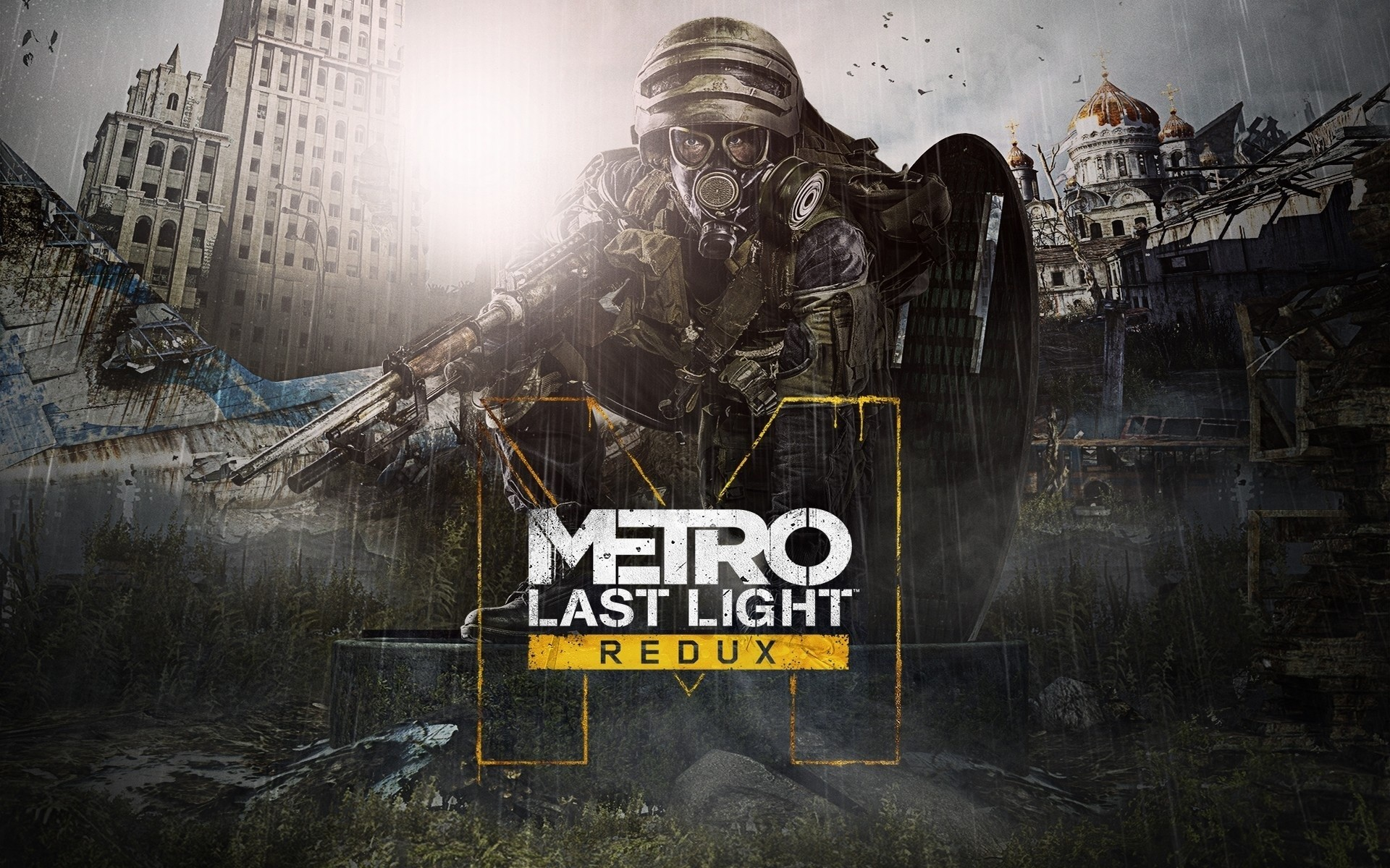 Wallpaper Metro Last Light Redux