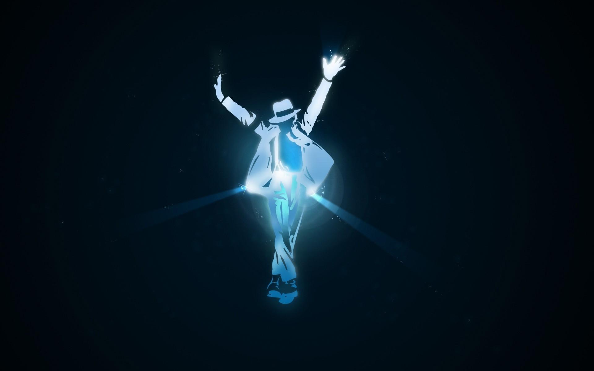 Fondo de pantalla de Michael Jackson en luces Imágenes