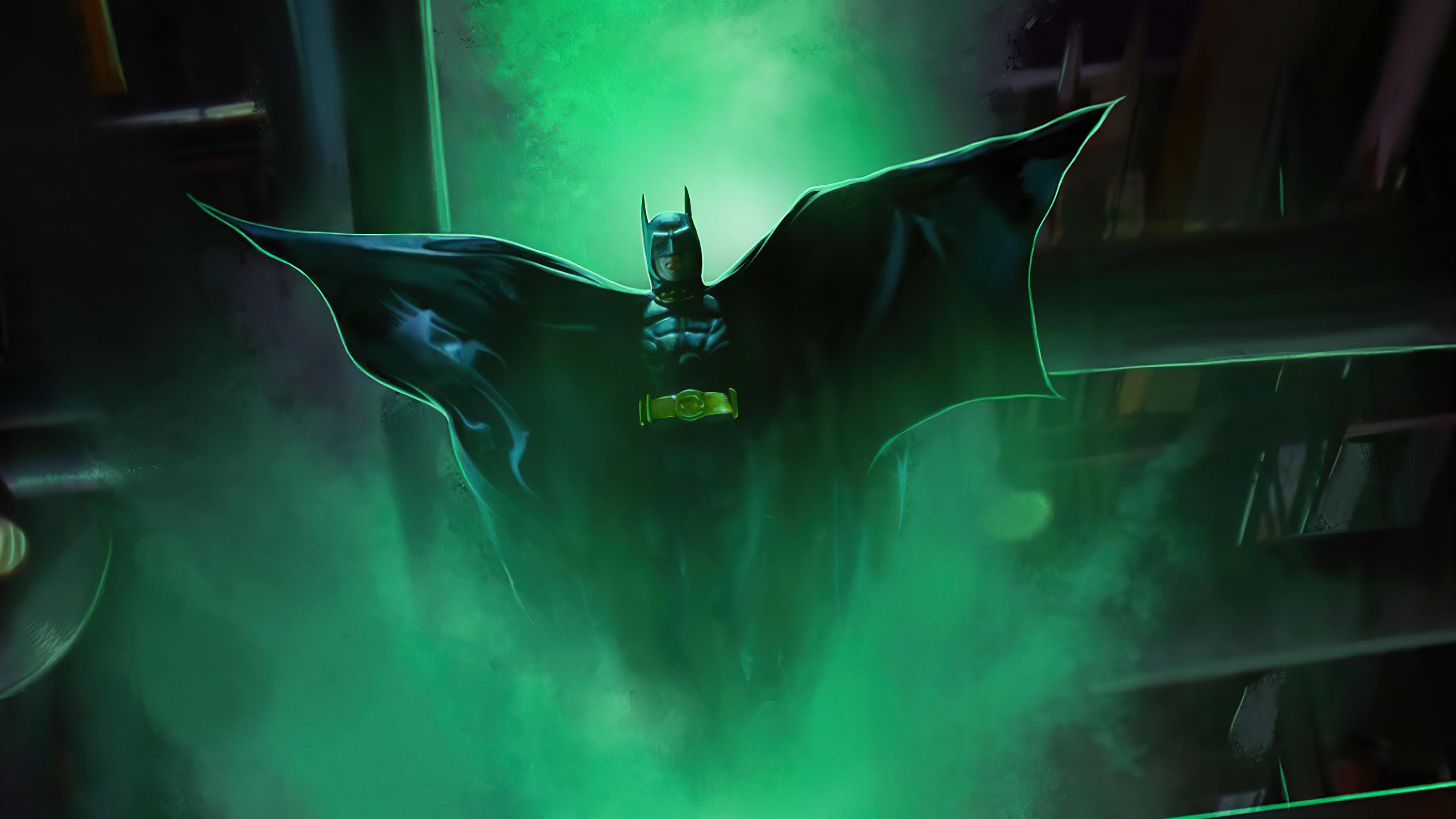 Fondos de pantalla Michael Keaton como Batman Fanart