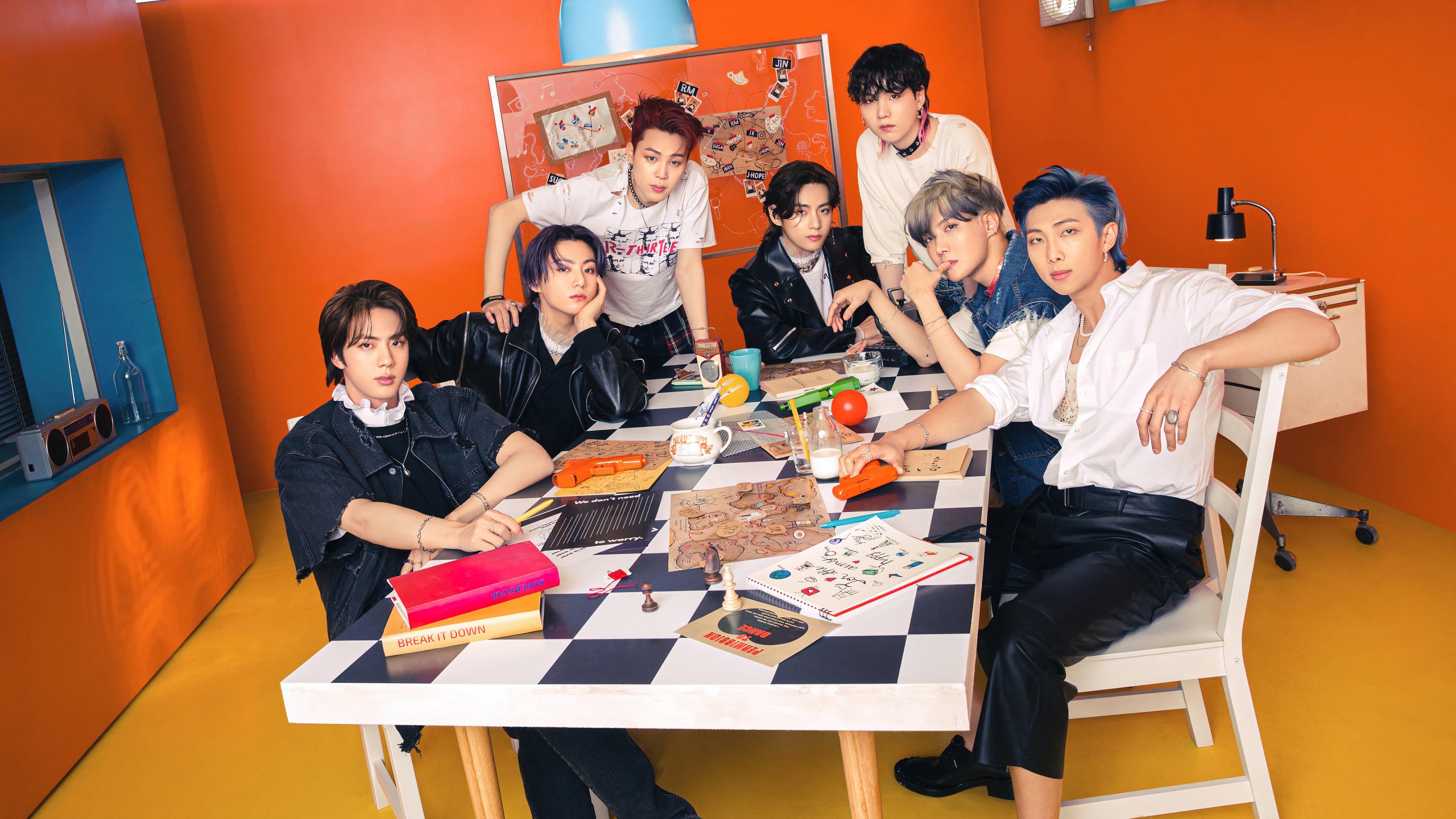 Wallpaper BTS members