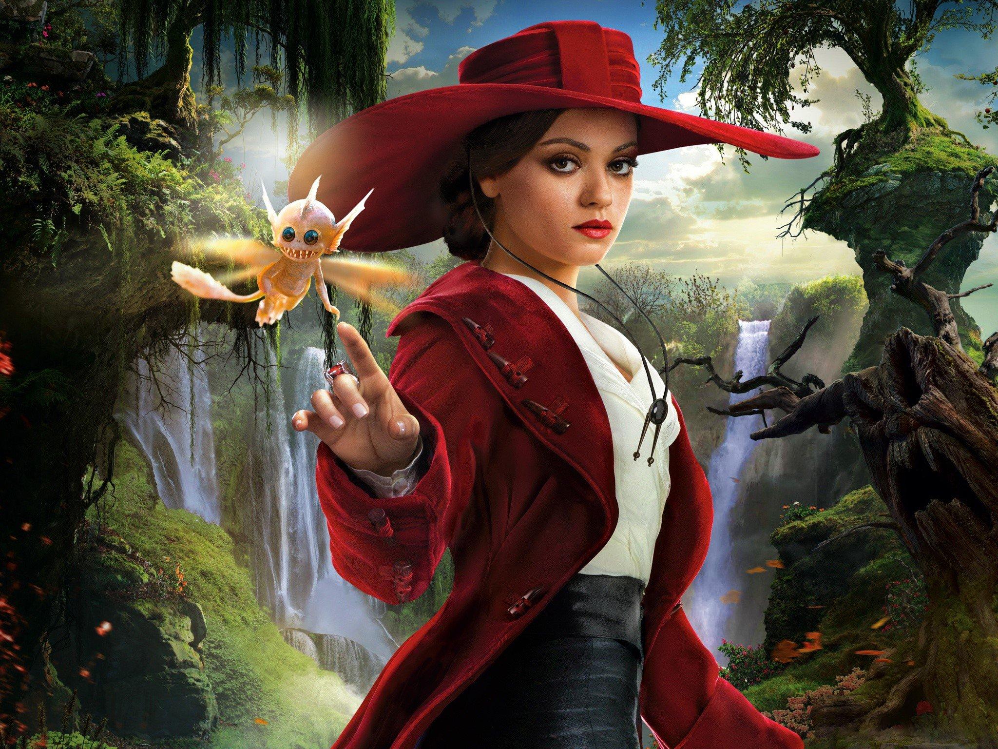 Wallpaper Mila Kunis in Oz The powerful one