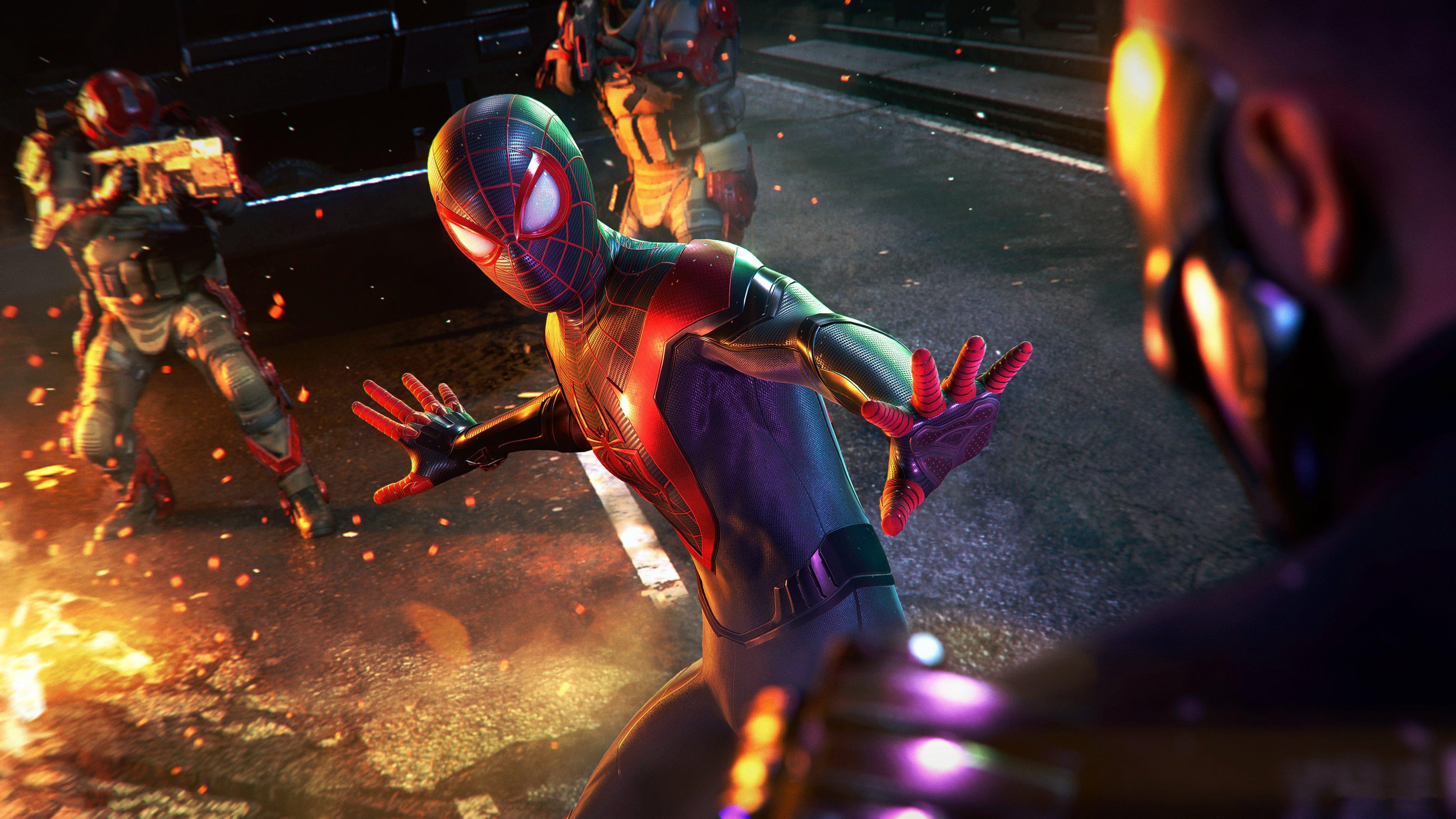 Fondos de pantalla Miles Morales como El hombre araña
