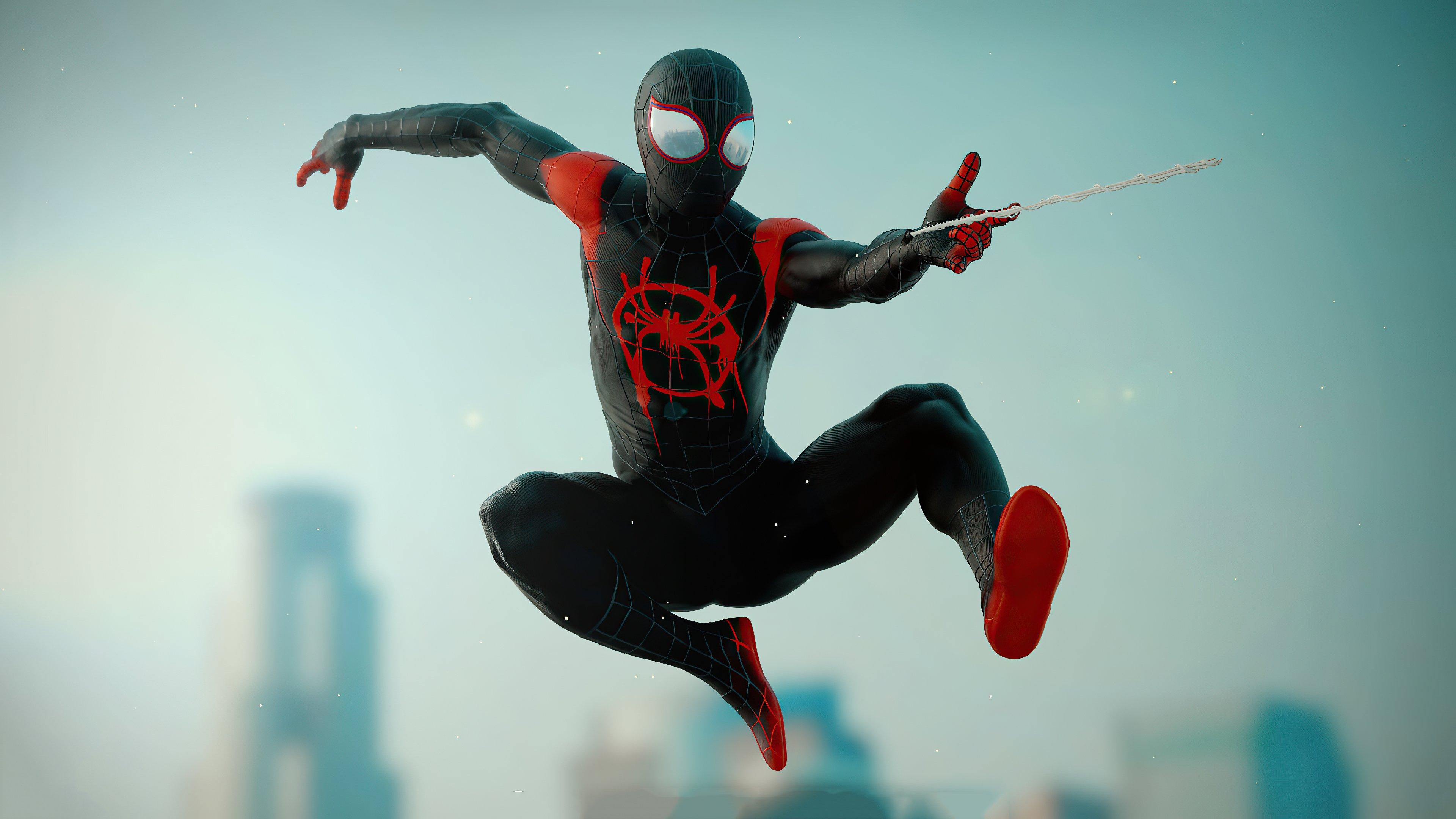 Fondos de pantalla Miles Morales como Spiderman 2020