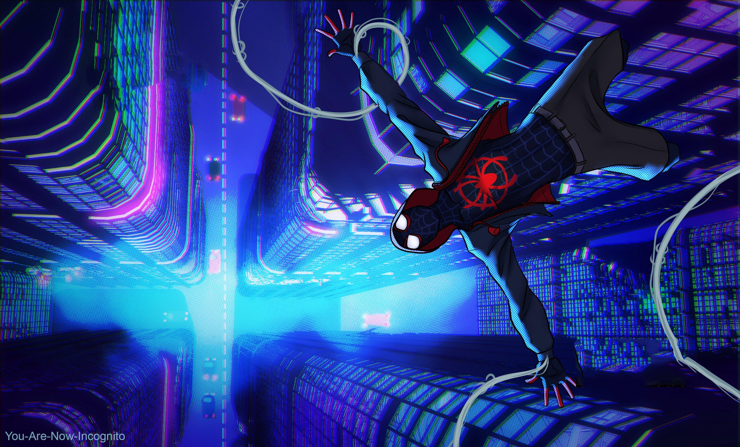 Fondos de pantalla Miles Morales en Spider-Man Un nuevo universo