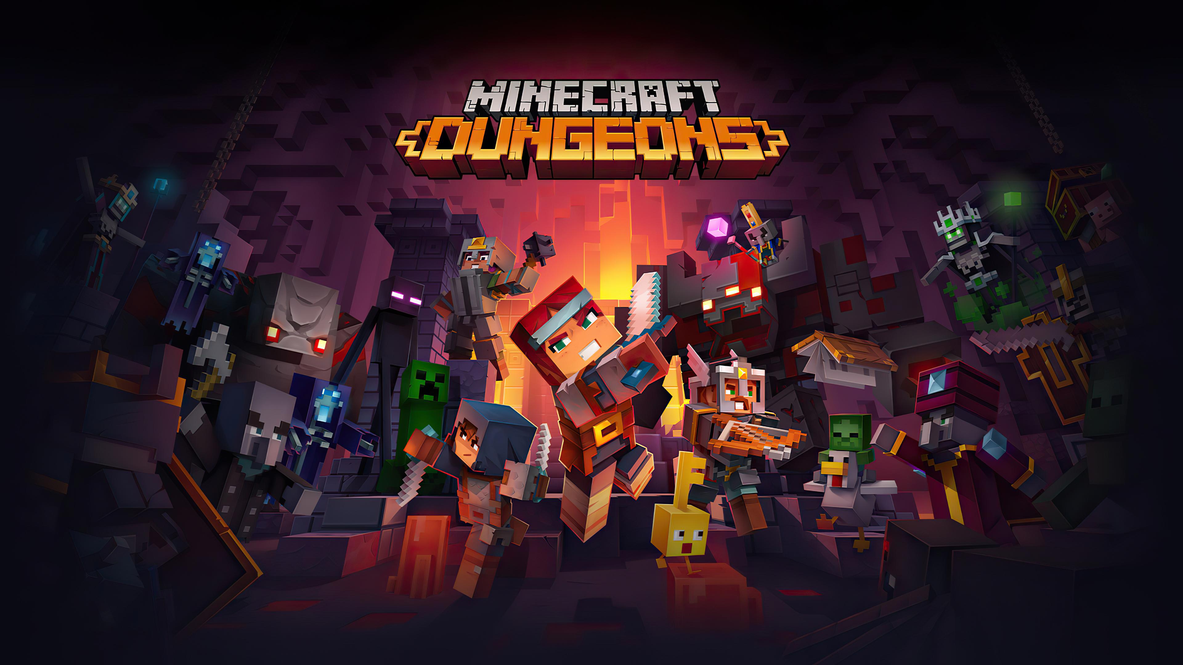 Fondos de pantalla Minecraft Dungeons