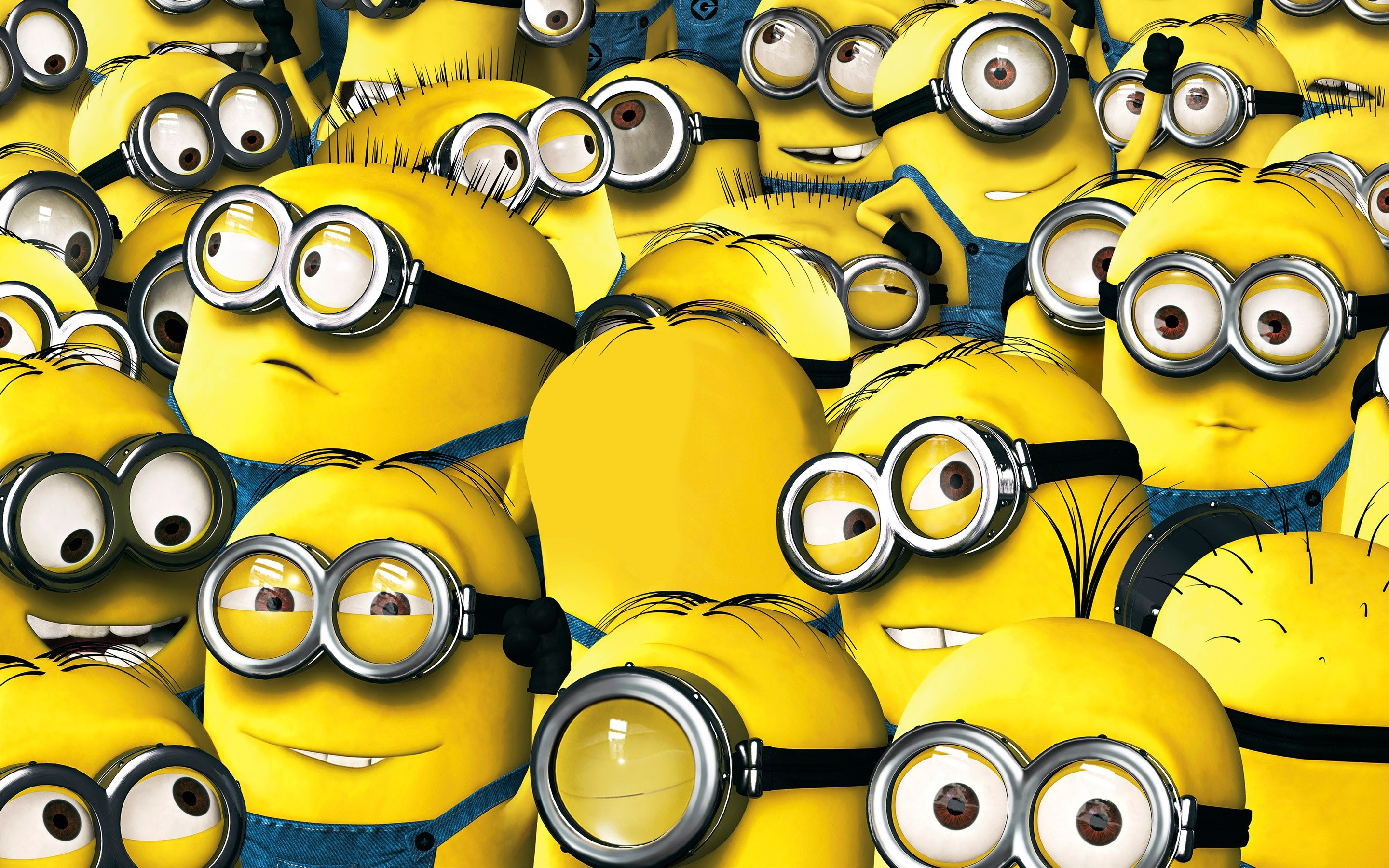 Wallpaper Minions of My favorite villain