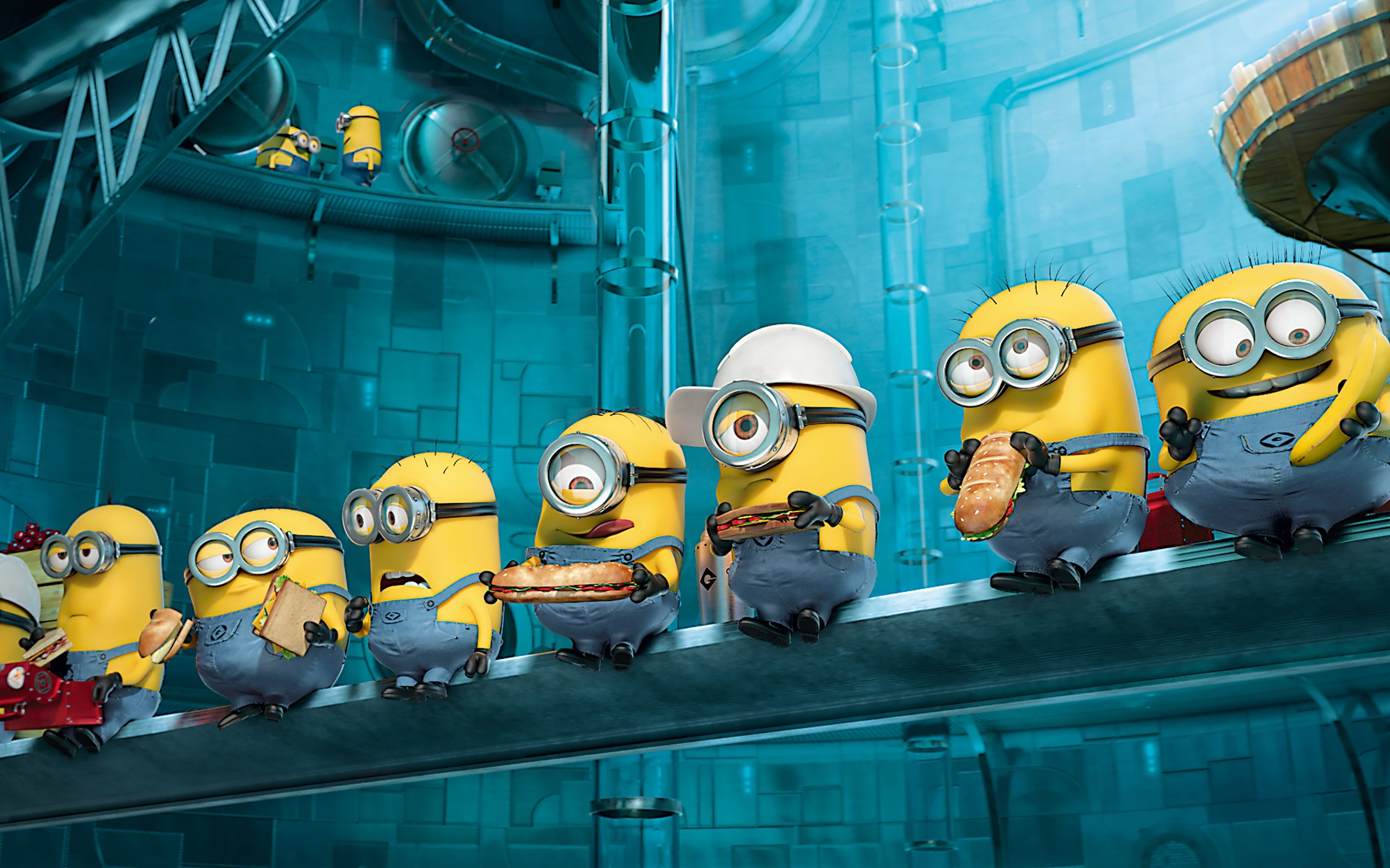 Wallpaper Minions in My favorite villain 2