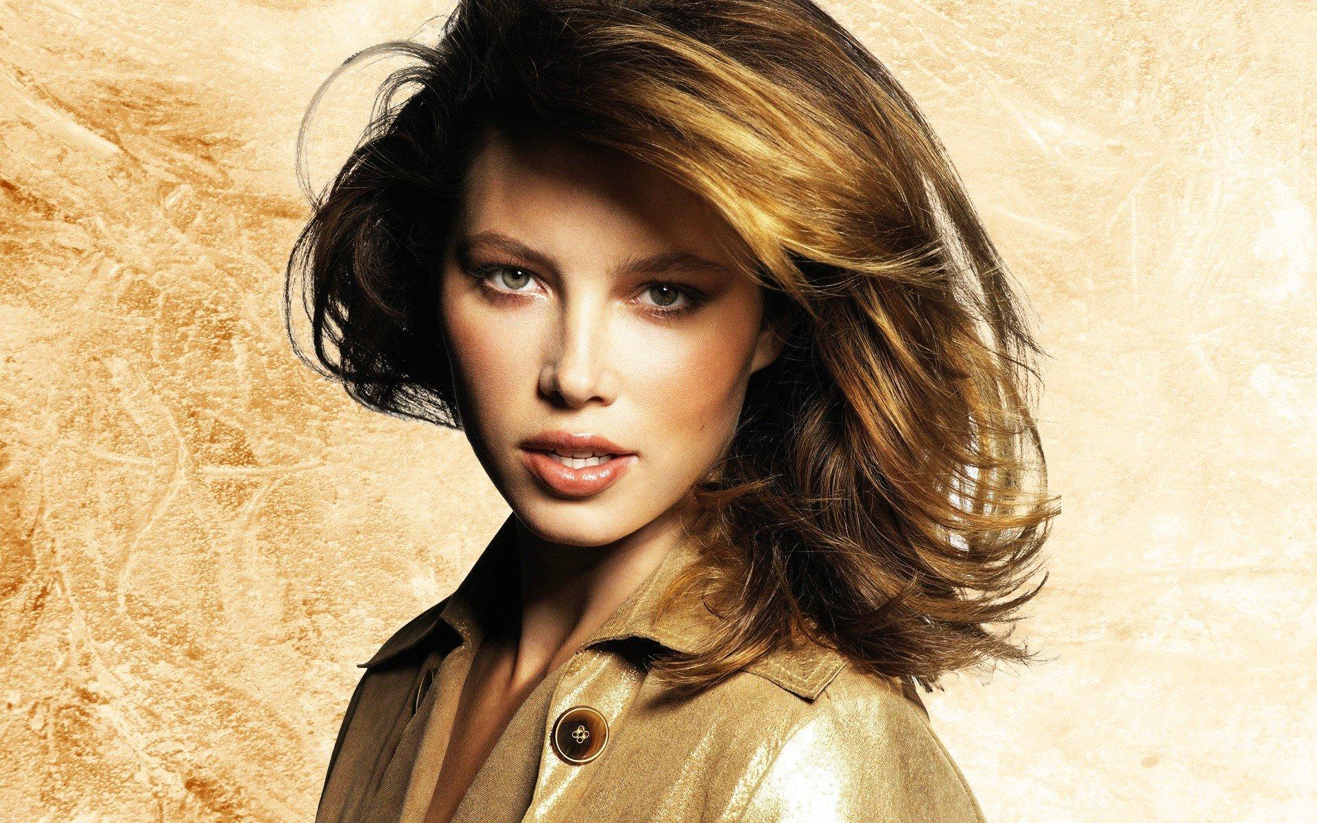 Wallpaper Model Jessica Biel