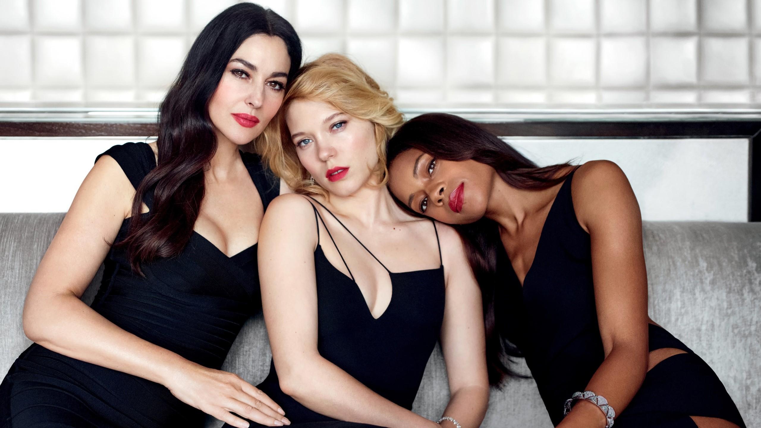 Fondo de pantalla de Monica Bellucci, Lea Seydoux y Naomie Harries Imágenes