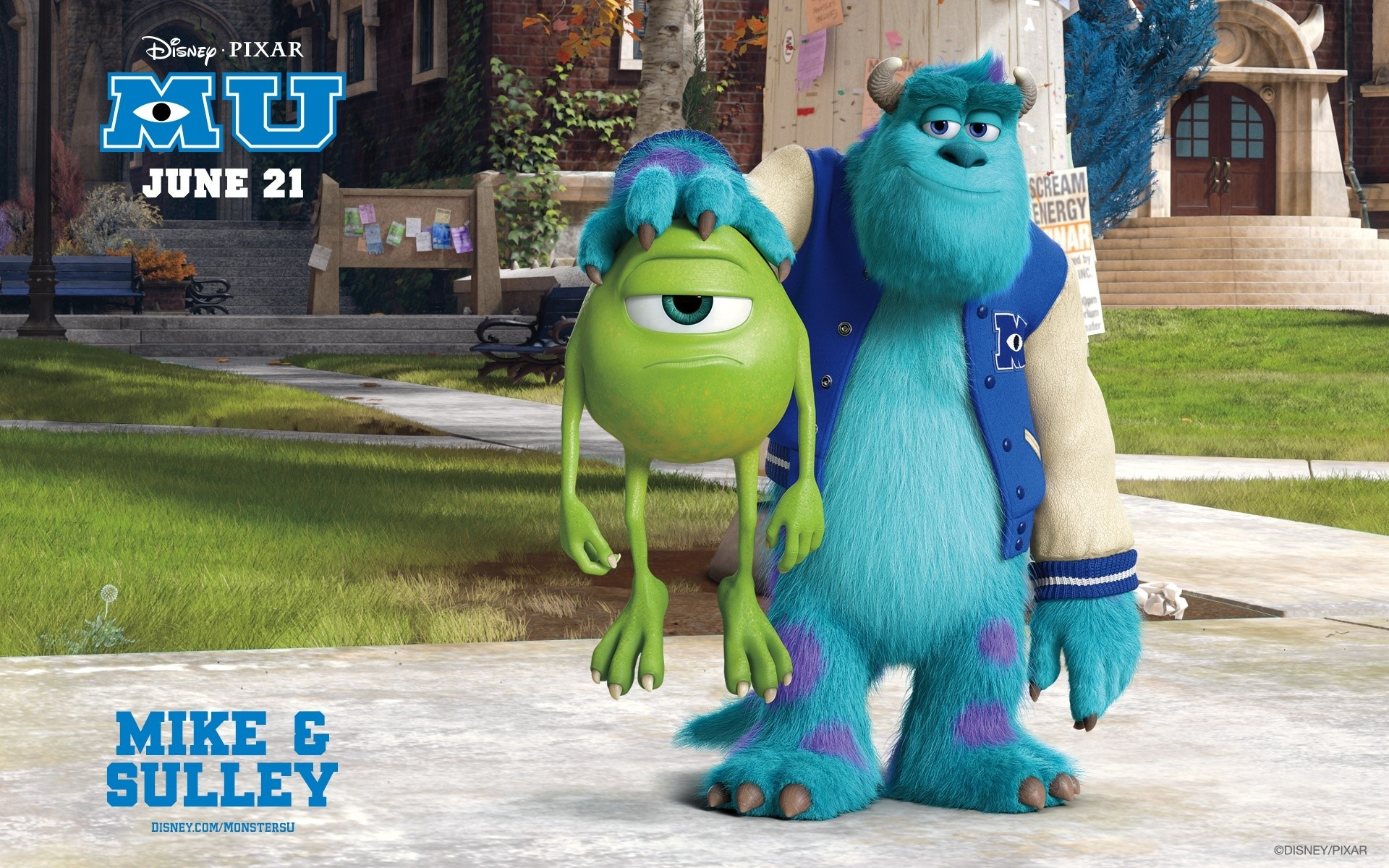 Wallpaper Monsters university Images